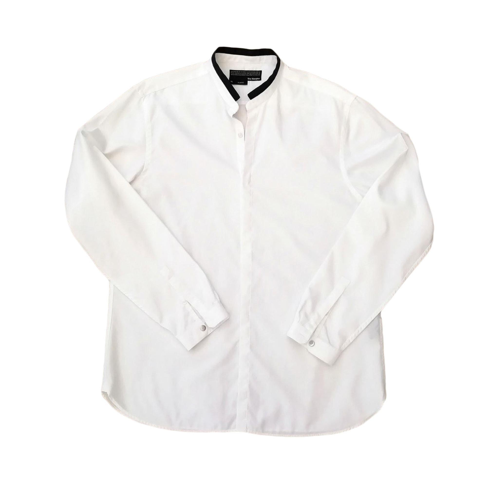Chemise THE KOOPLES Blanc, blanc cassé, écru