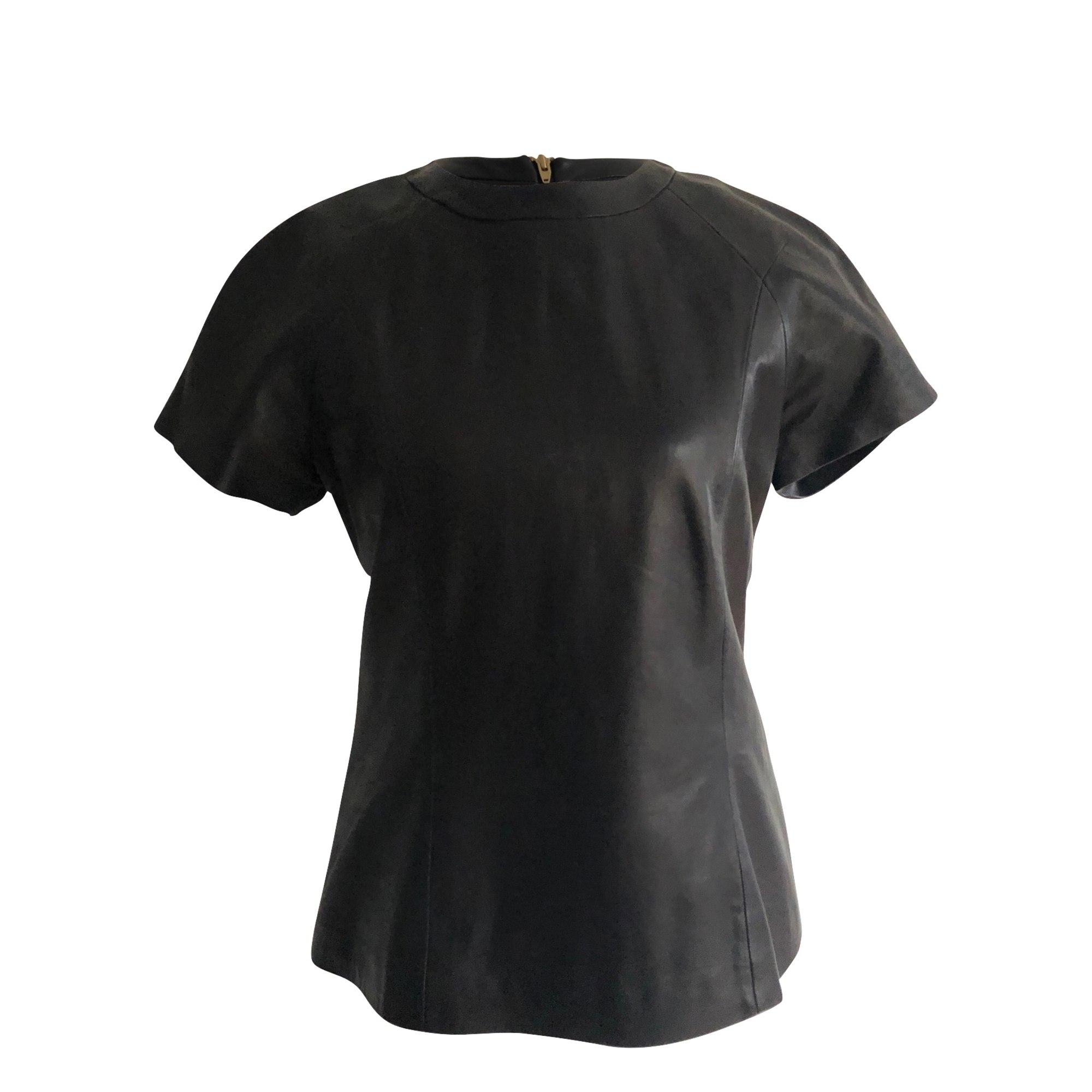 Top, tee-shirt ALEXANDER WANG Noir