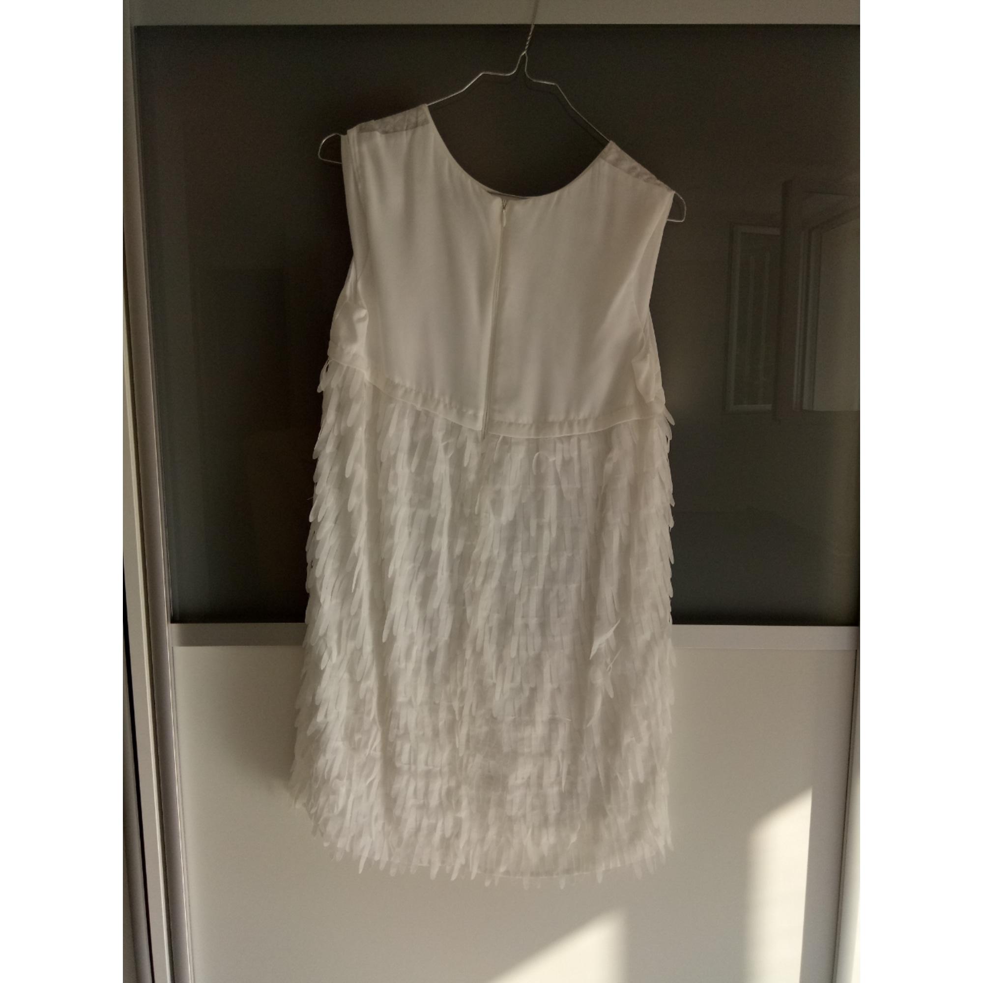Robe CATIMINI Blanc, blanc cassé, écru