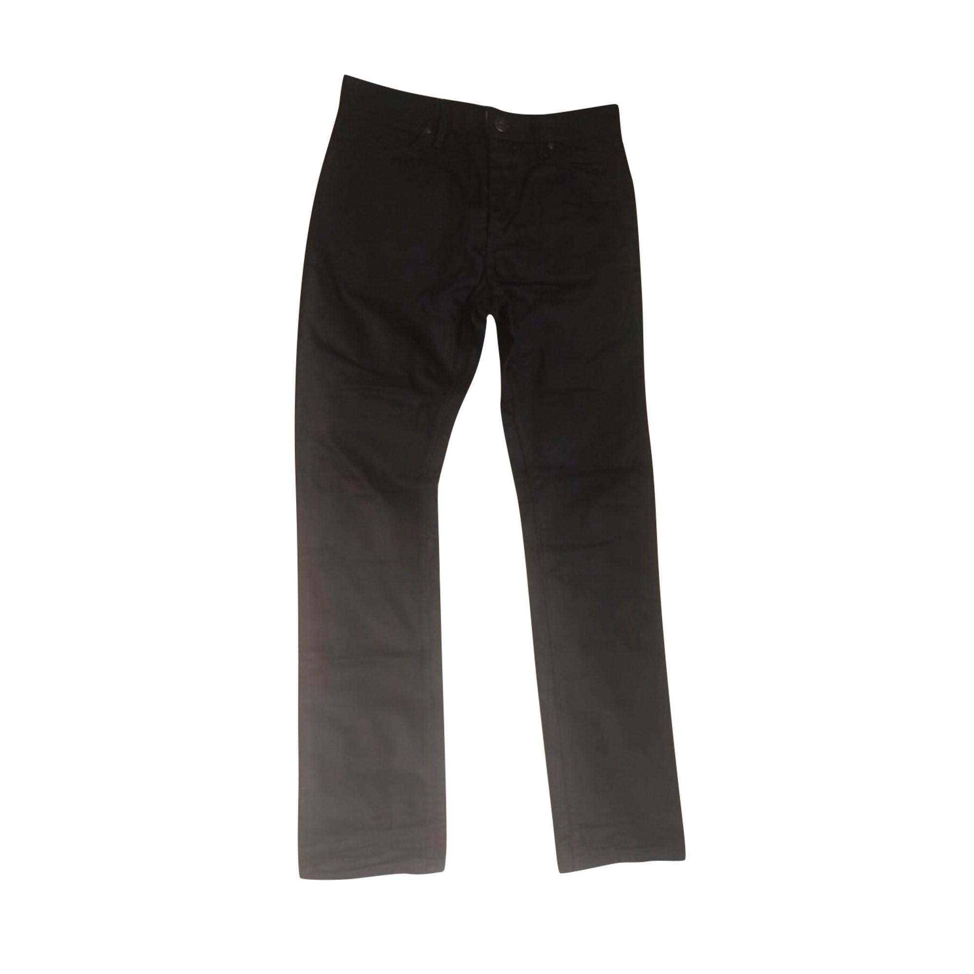 Jeans droit HUGO BOSS Noir