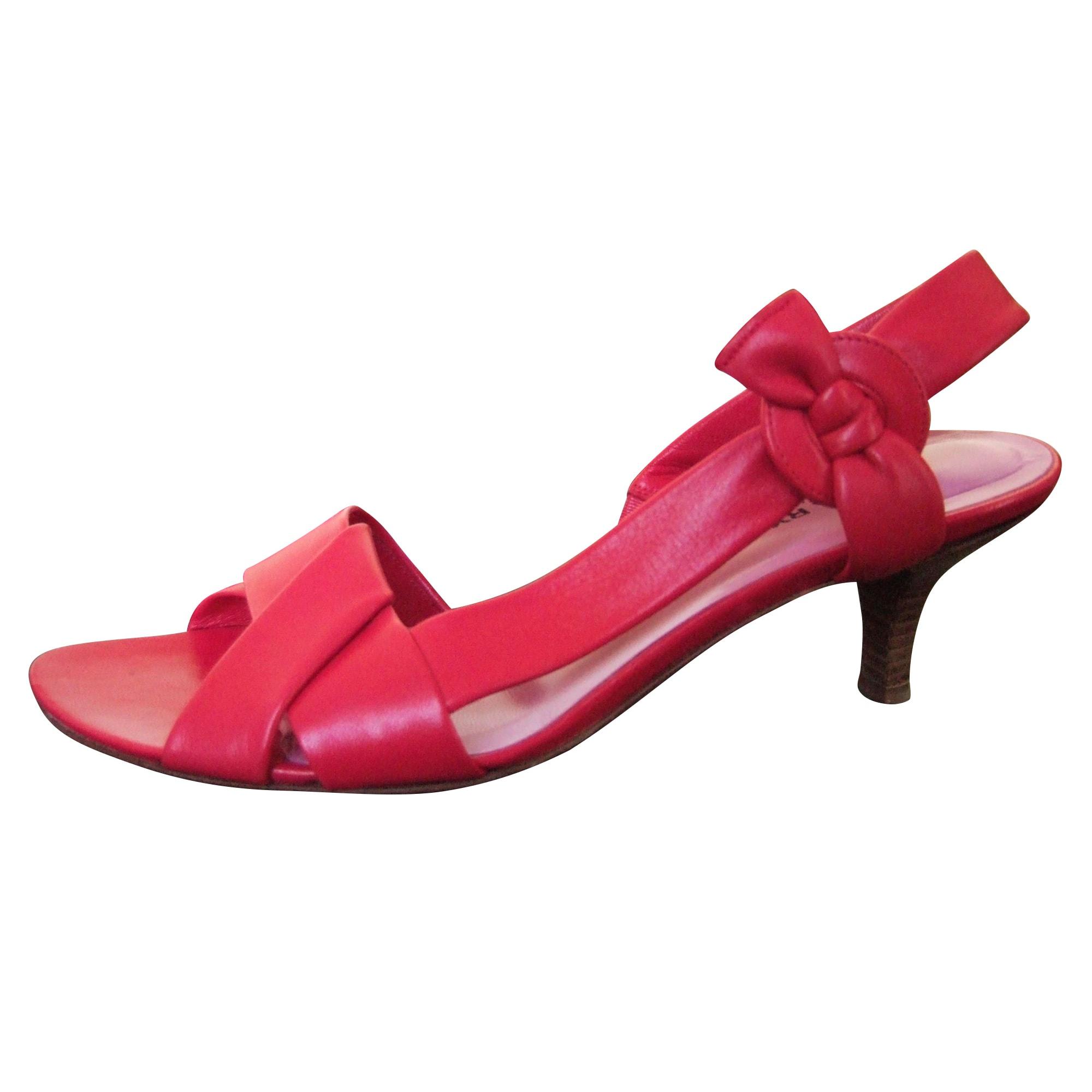 Sandales à talons SONIA RYKIEL Rose, fuschia, vieux rose