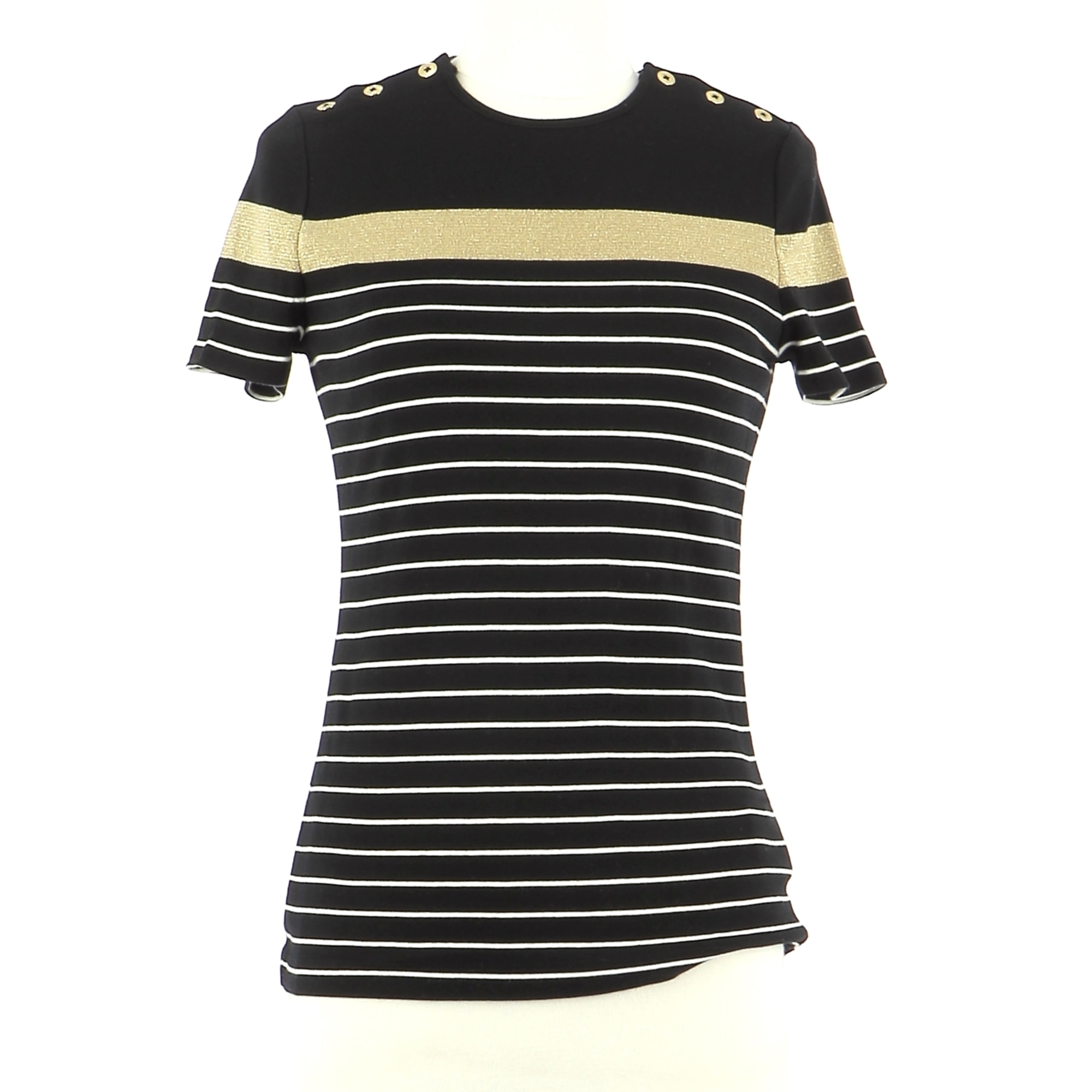 Top, tee-shirt RALPH LAUREN Noir