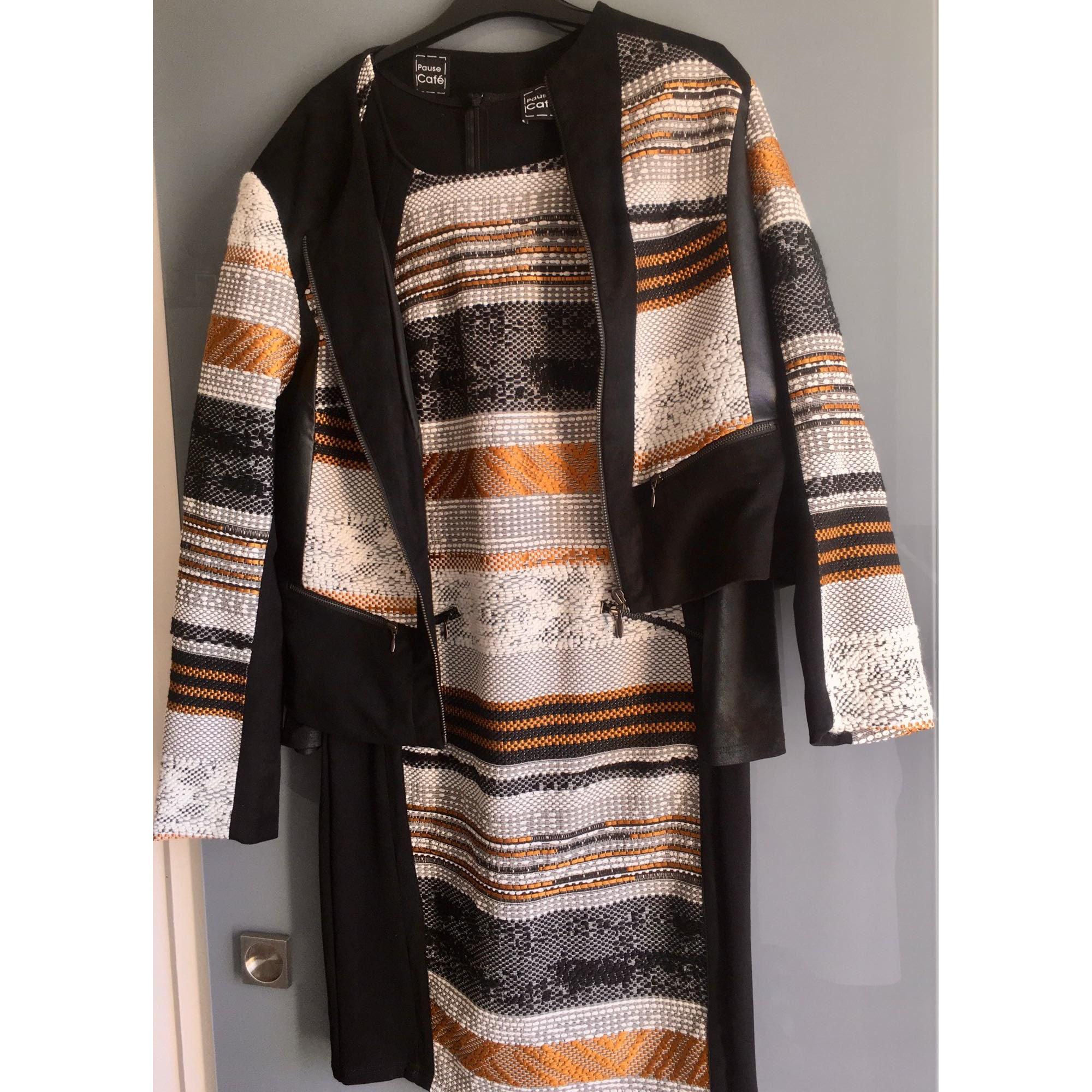 Tailleur robe PAUSE CAFÉ Multicouleur