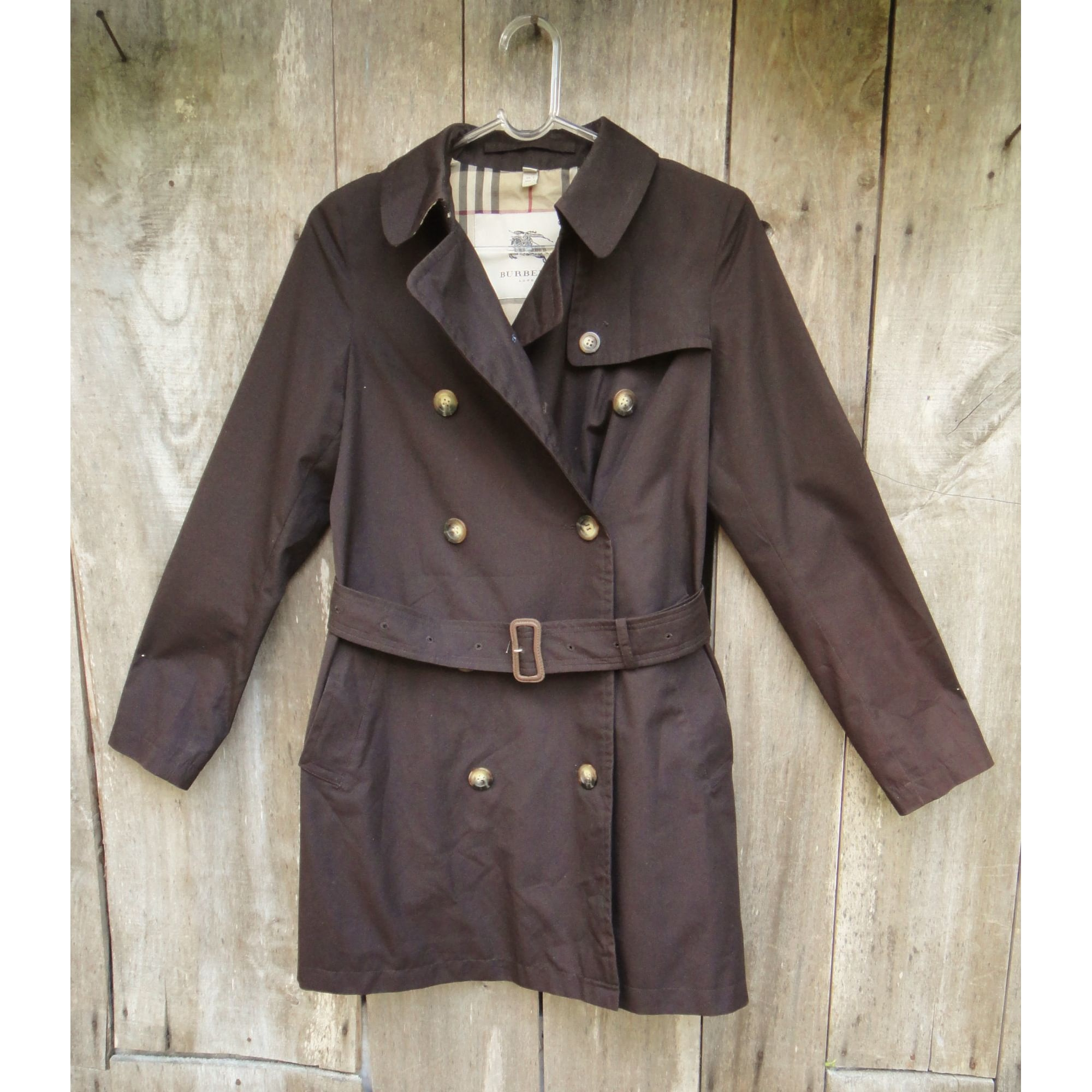 Imperméable, trench BURBERRY Marron