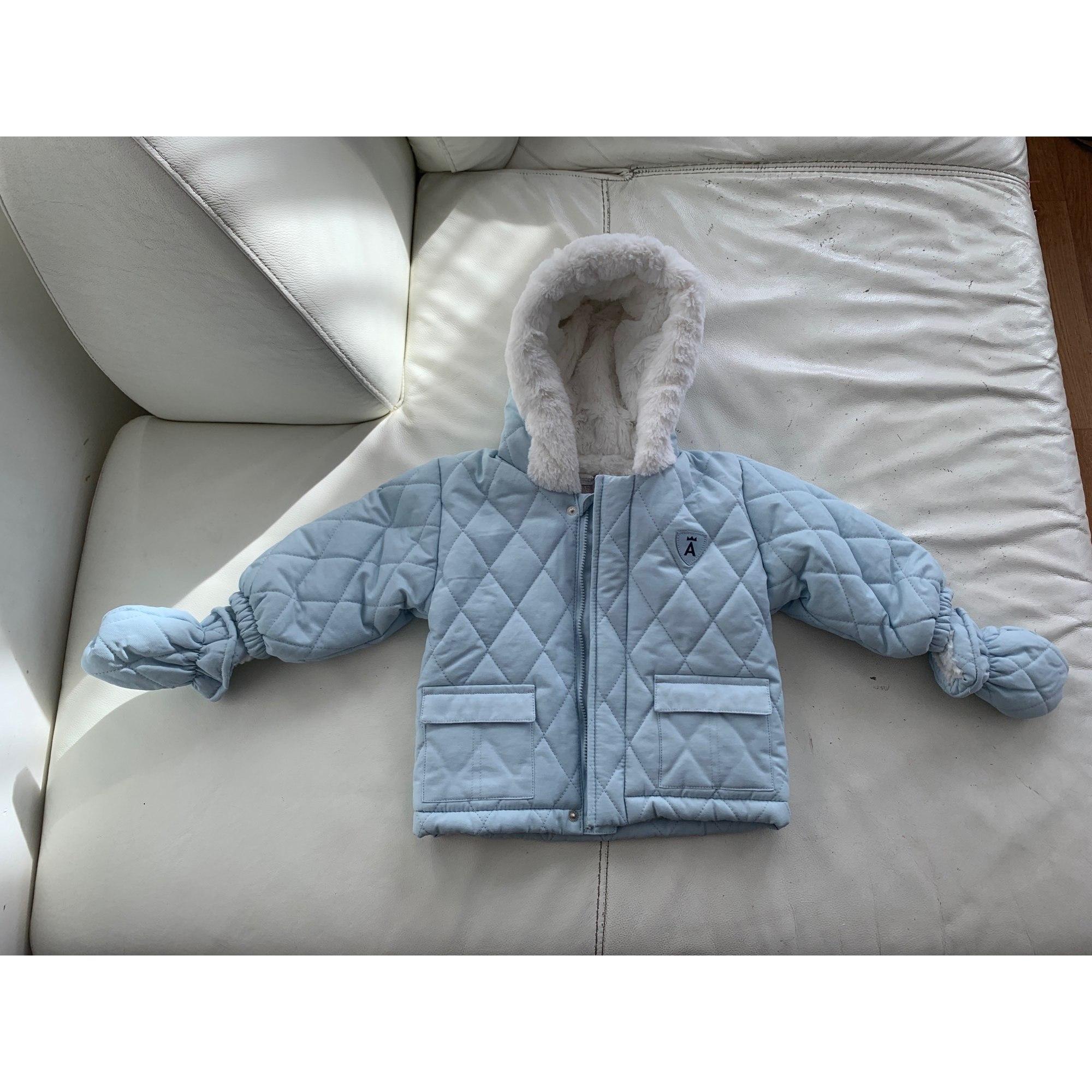 Manteau ABSORBA Bleu, bleu marine, bleu turquoise