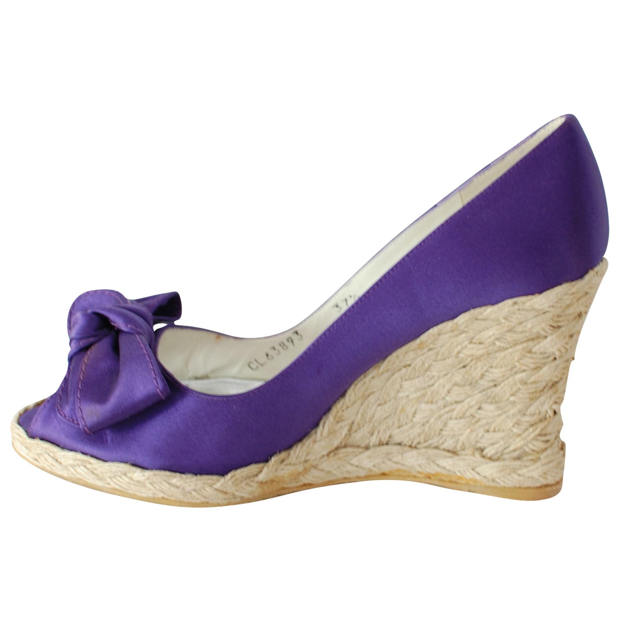 Chaussons & pantoufles STUART WEITZMAN Violet, mauve, lavande