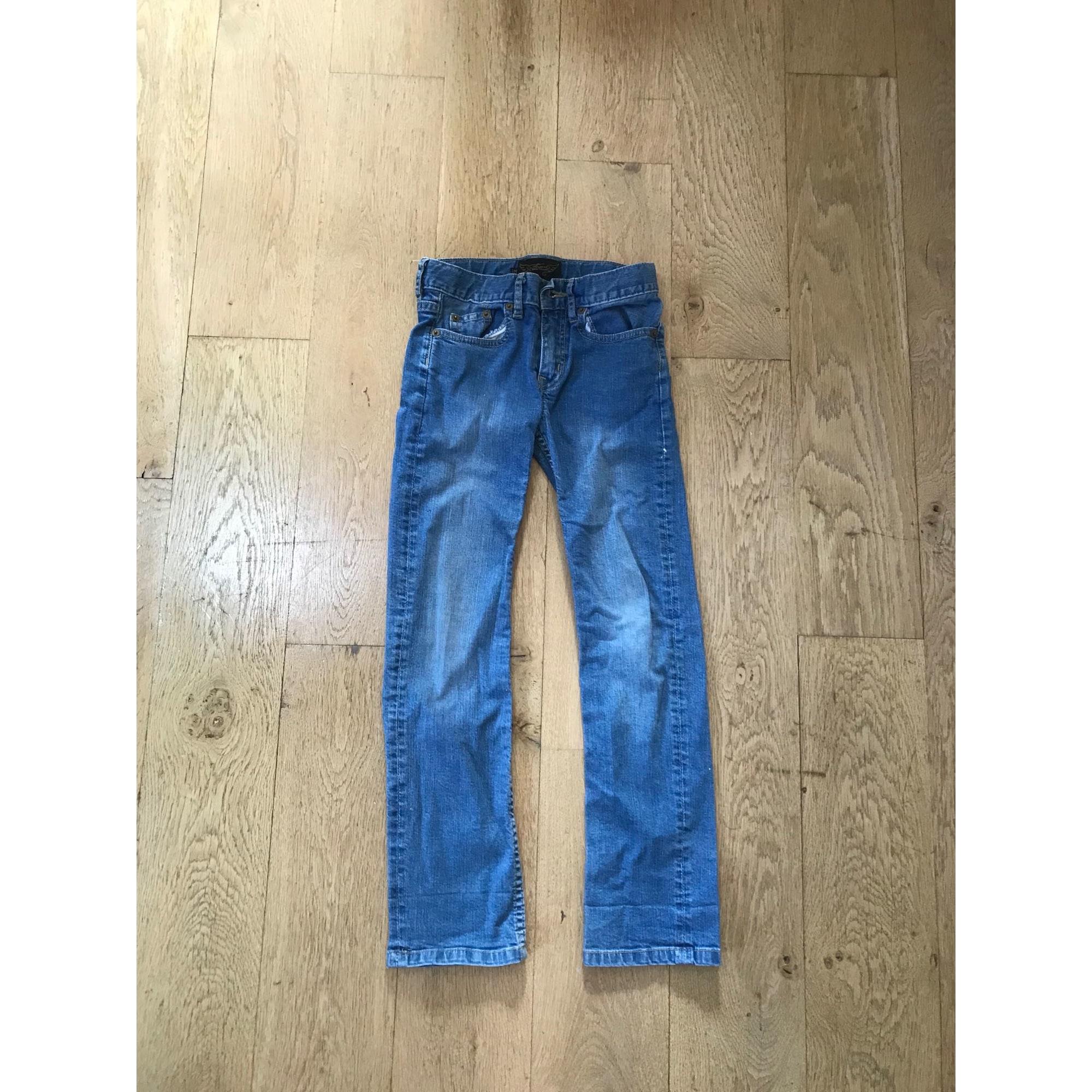 Jean slim FINGER IN THE NOSE Bleu, bleu marine, bleu turquoise