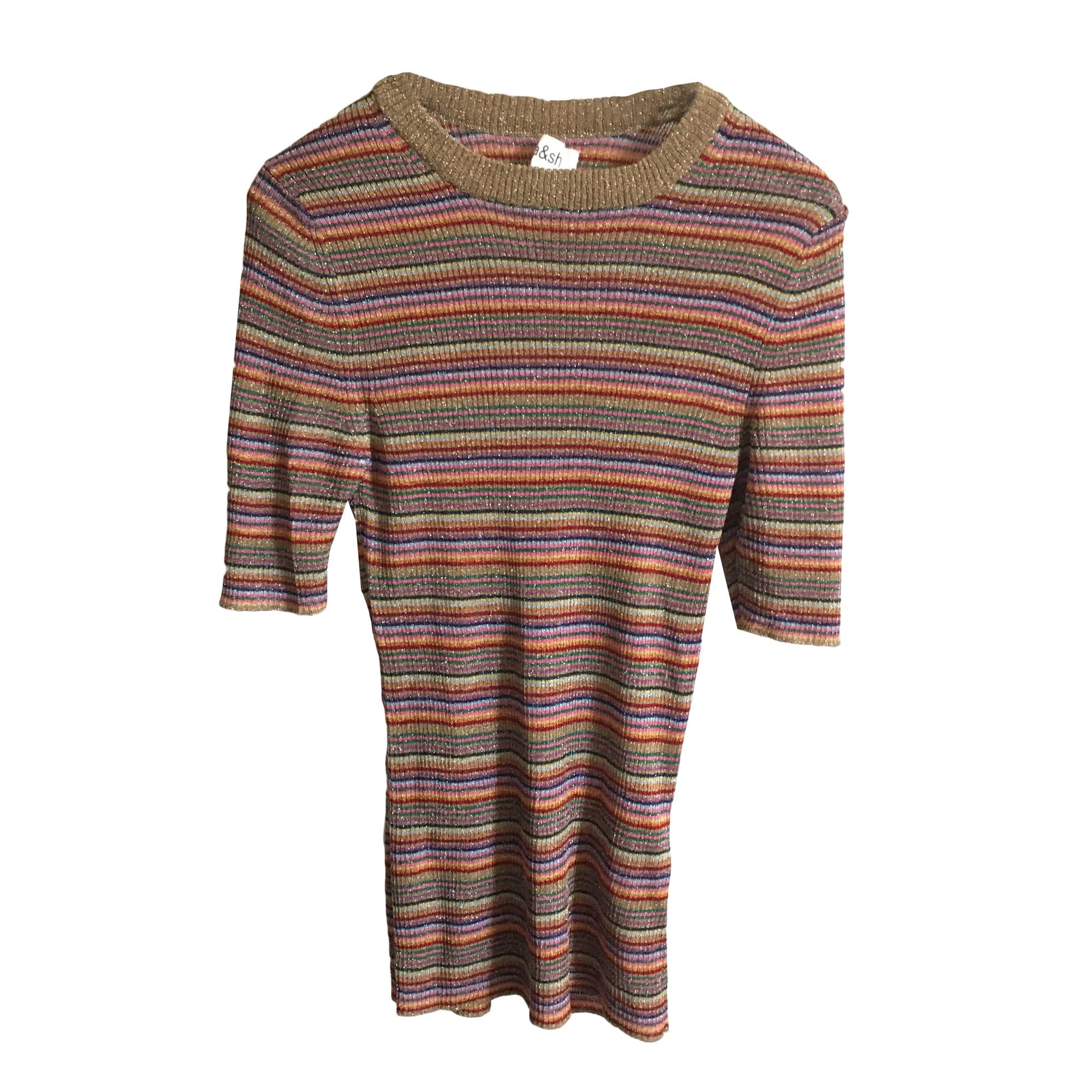 Top, tee-shirt BA&SH Multicouleur