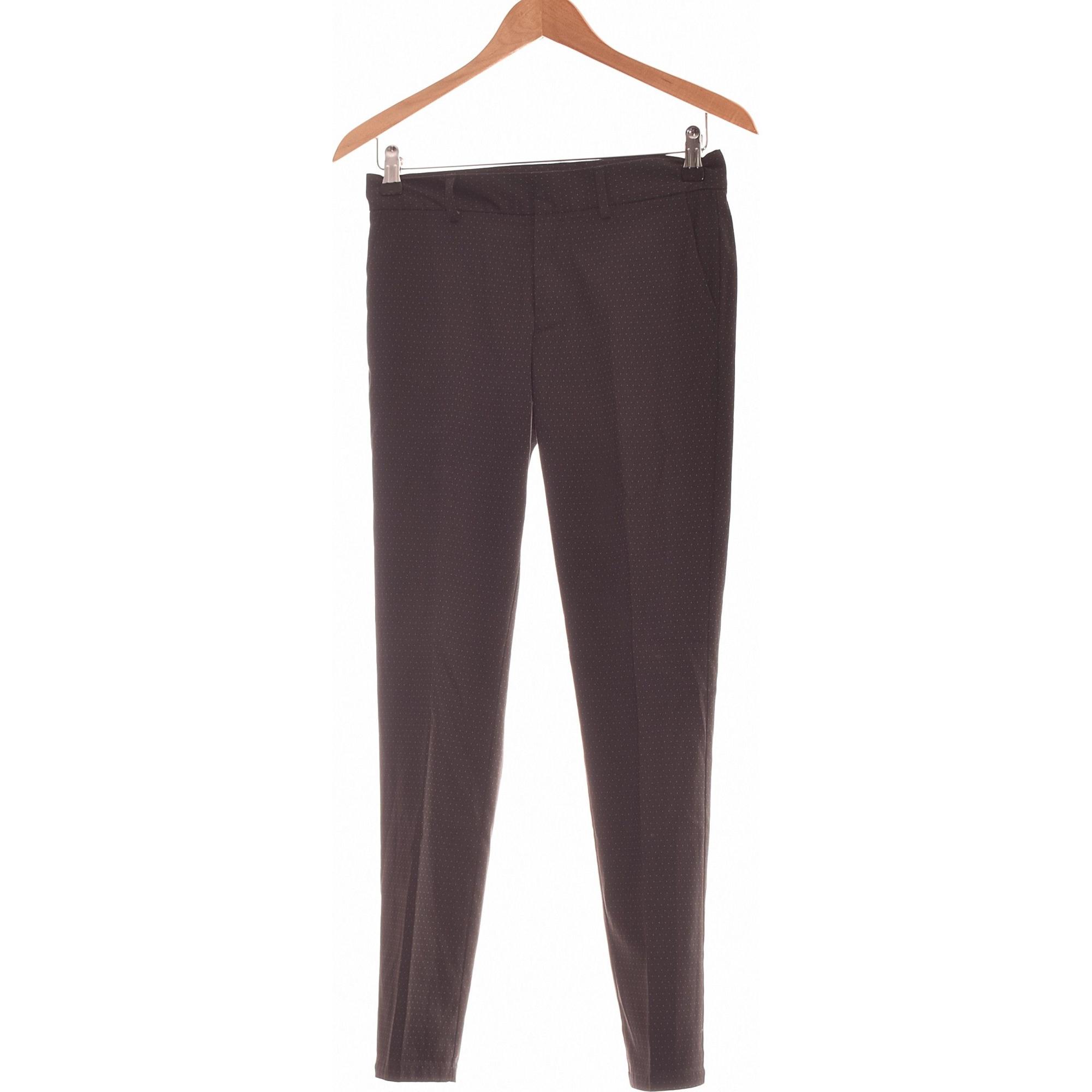 Pantalon slim, cigarette TEDDY SMITH Noir