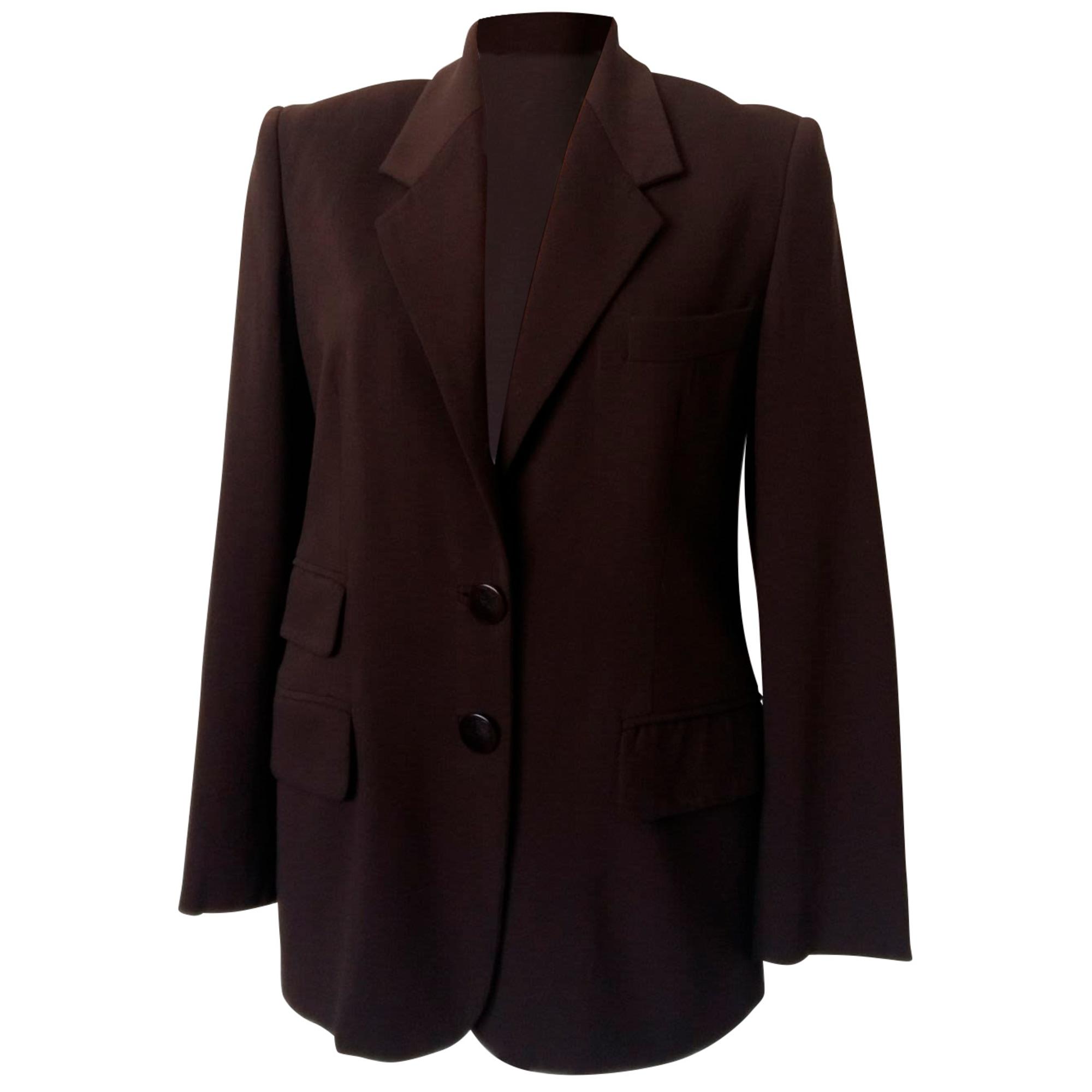 Blazer, veste tailleur LOEWE Marron