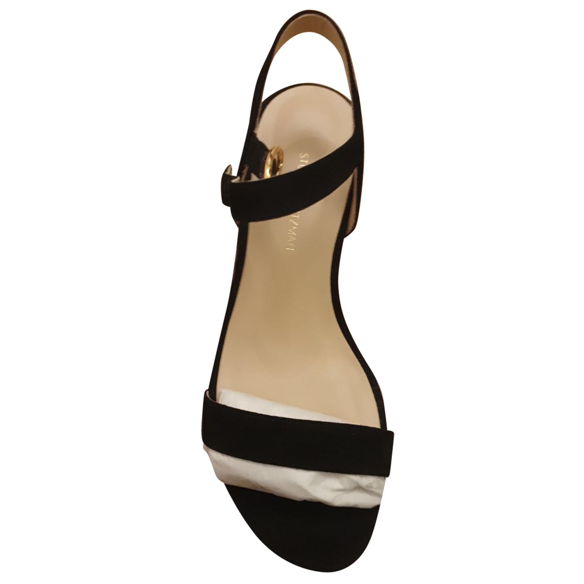 Sandales à talons STUART WEITZMAN Noir