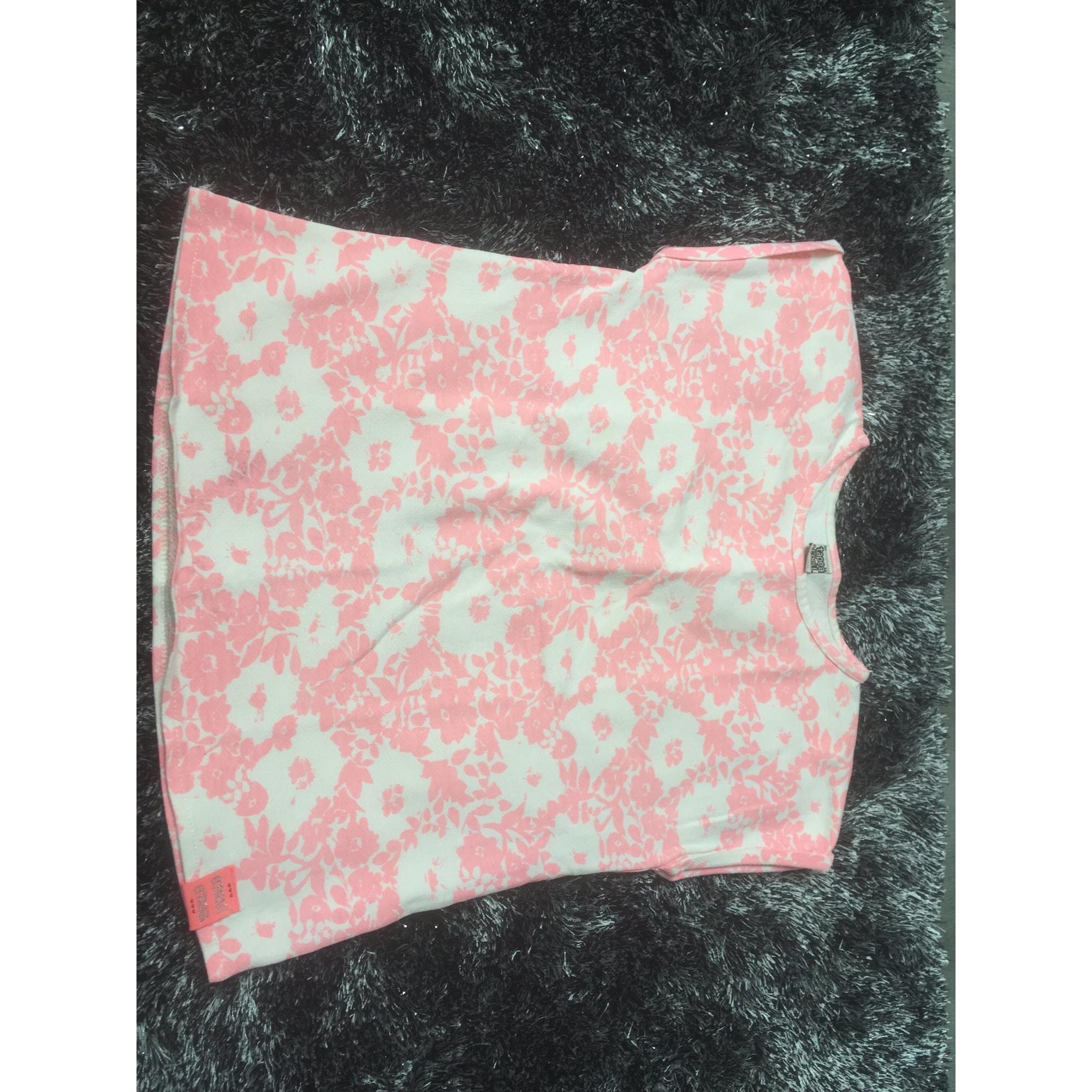 Top, Tee-shirt TAPE À L'OEIL Rose, fuschia, vieux rose