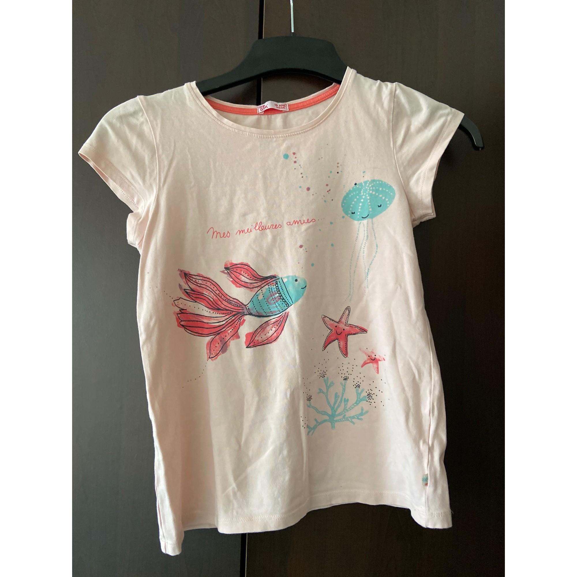 Top, Tee-shirt DU PAREIL AU MÊME DPAM Multicouleur