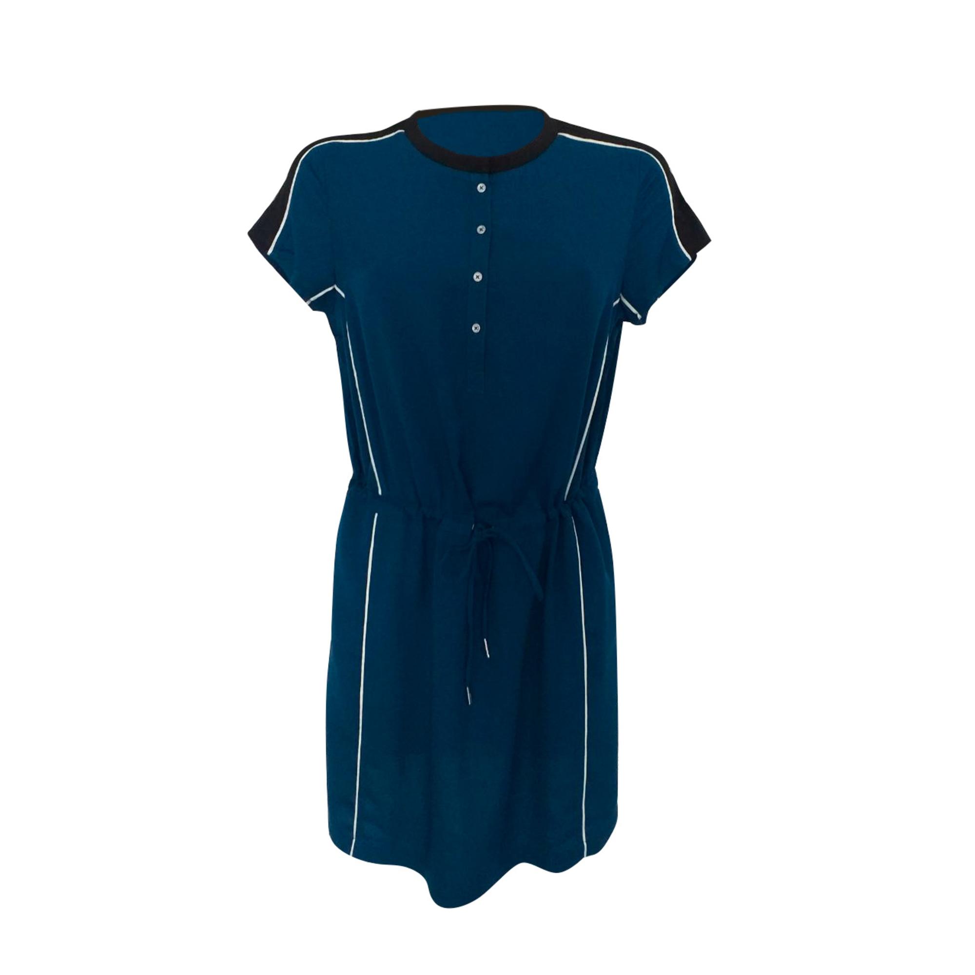 Robe mi-longue CALVIN KLEIN Bleu, bleu marine, bleu turquoise