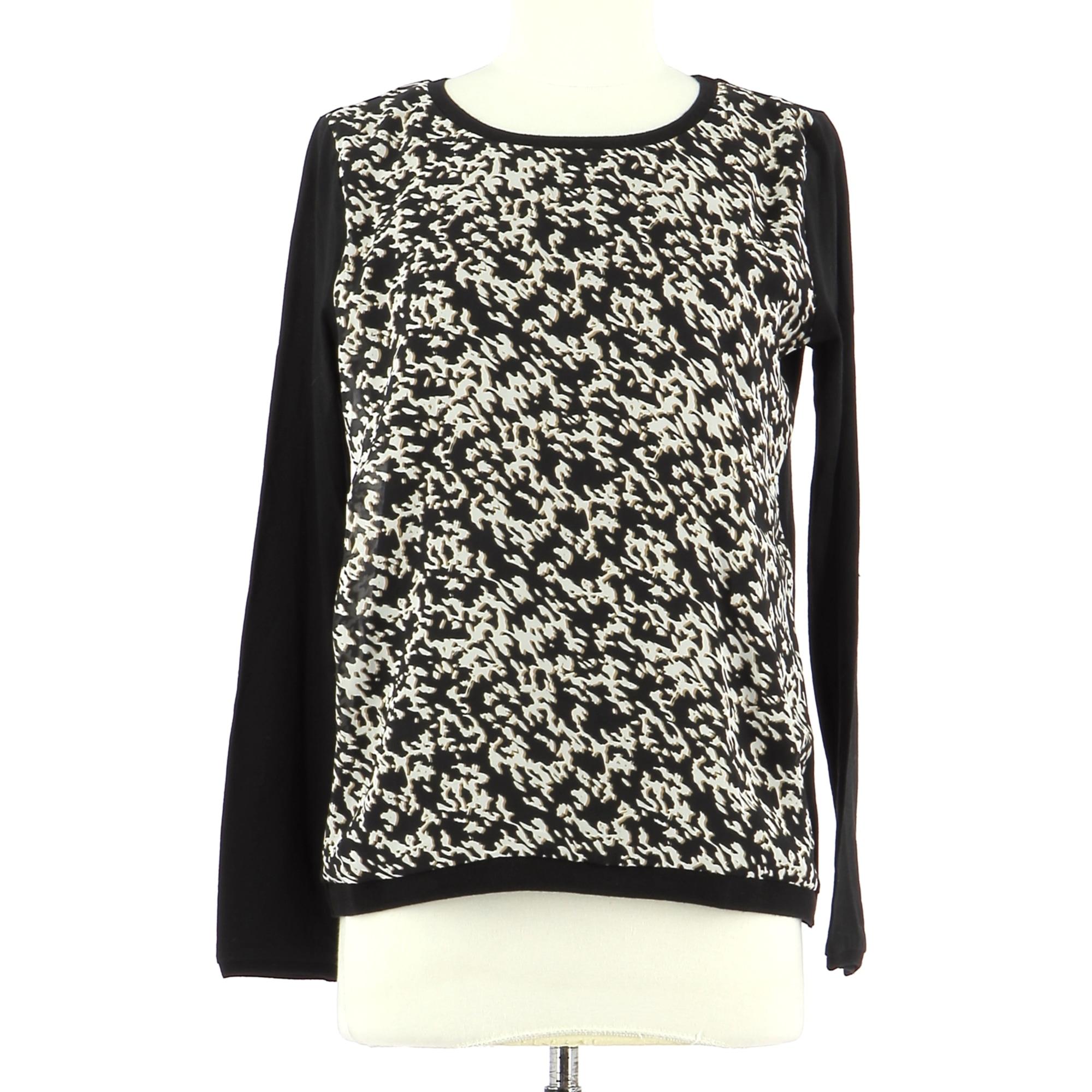 Top, tee-shirt COMPTOIR DES COTONNIERS Noir