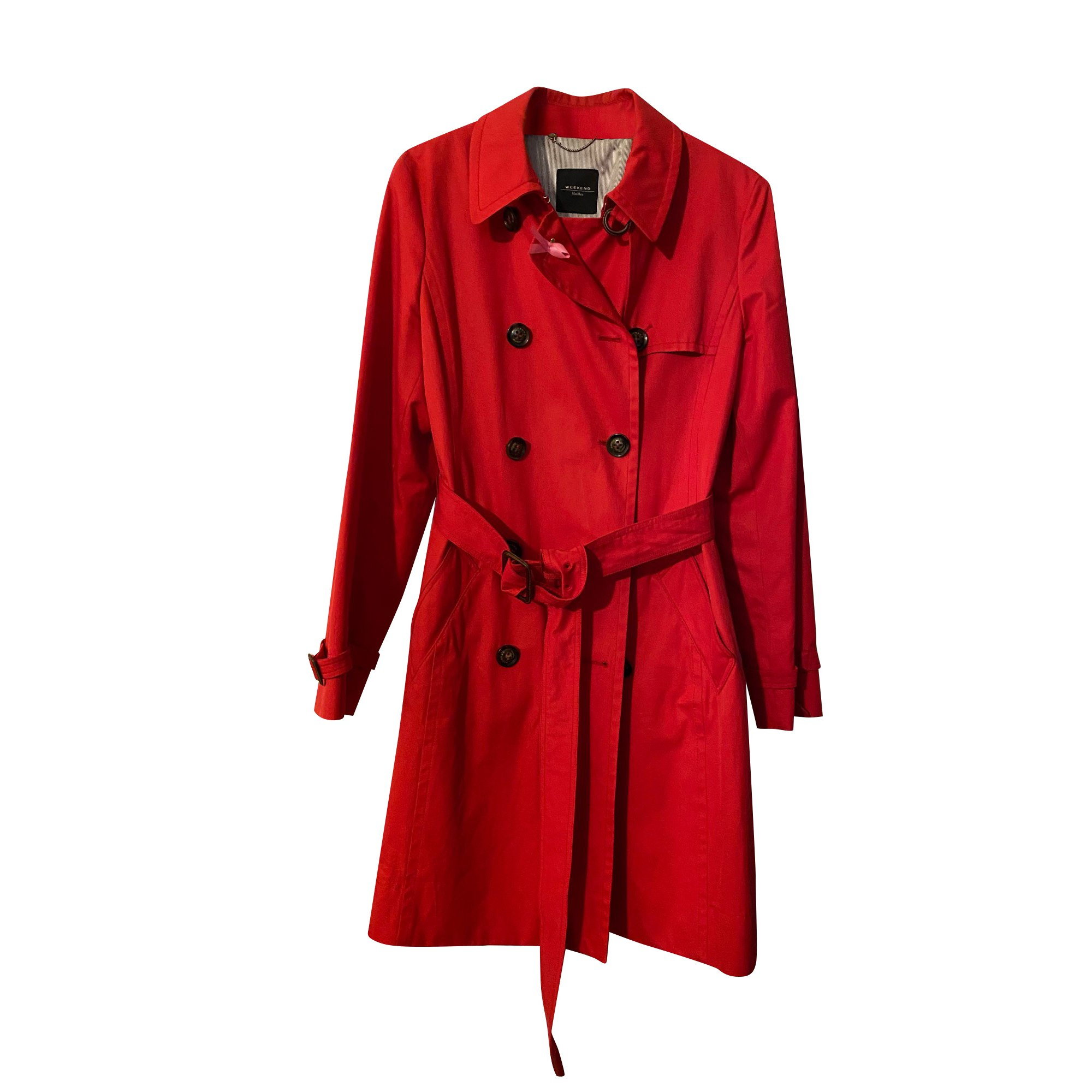 Imperméable, trench WEEKEND MAX MARA Rouge, bordeaux