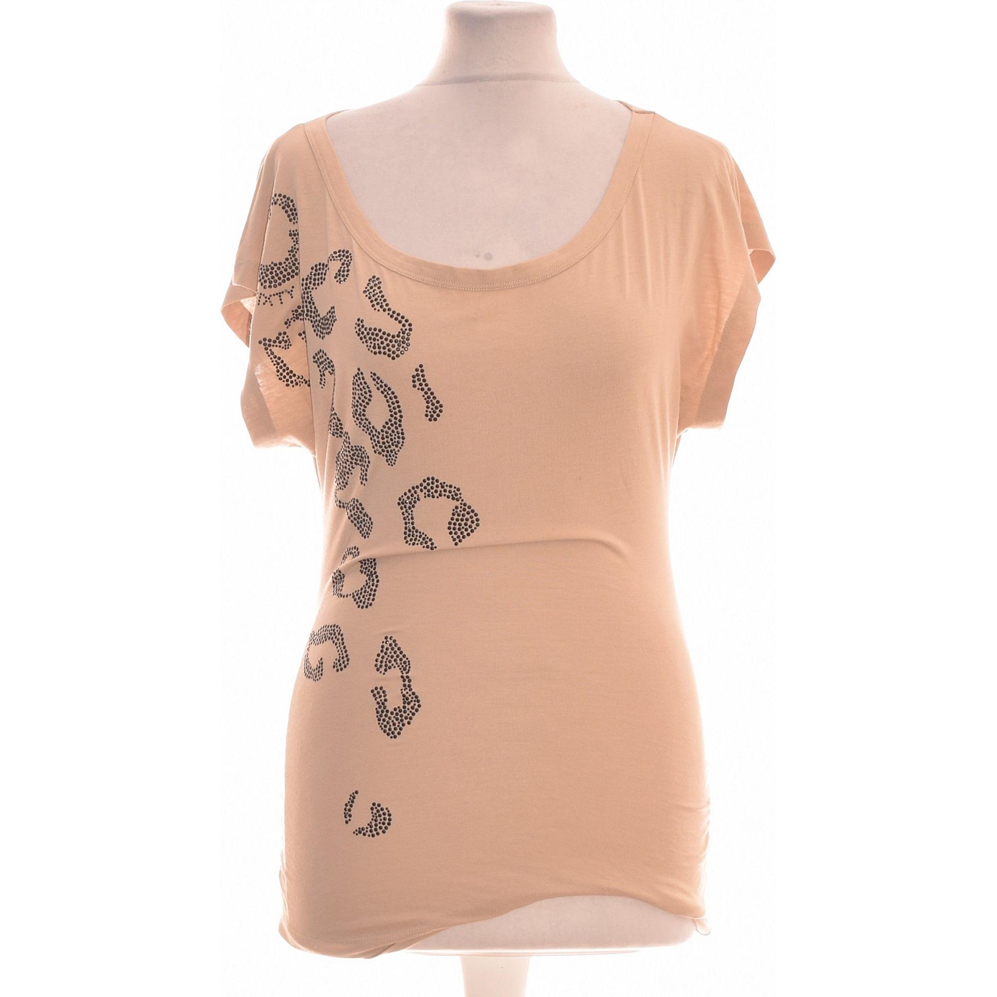 Top, tee-shirt MISS SIXTY Beige, camel