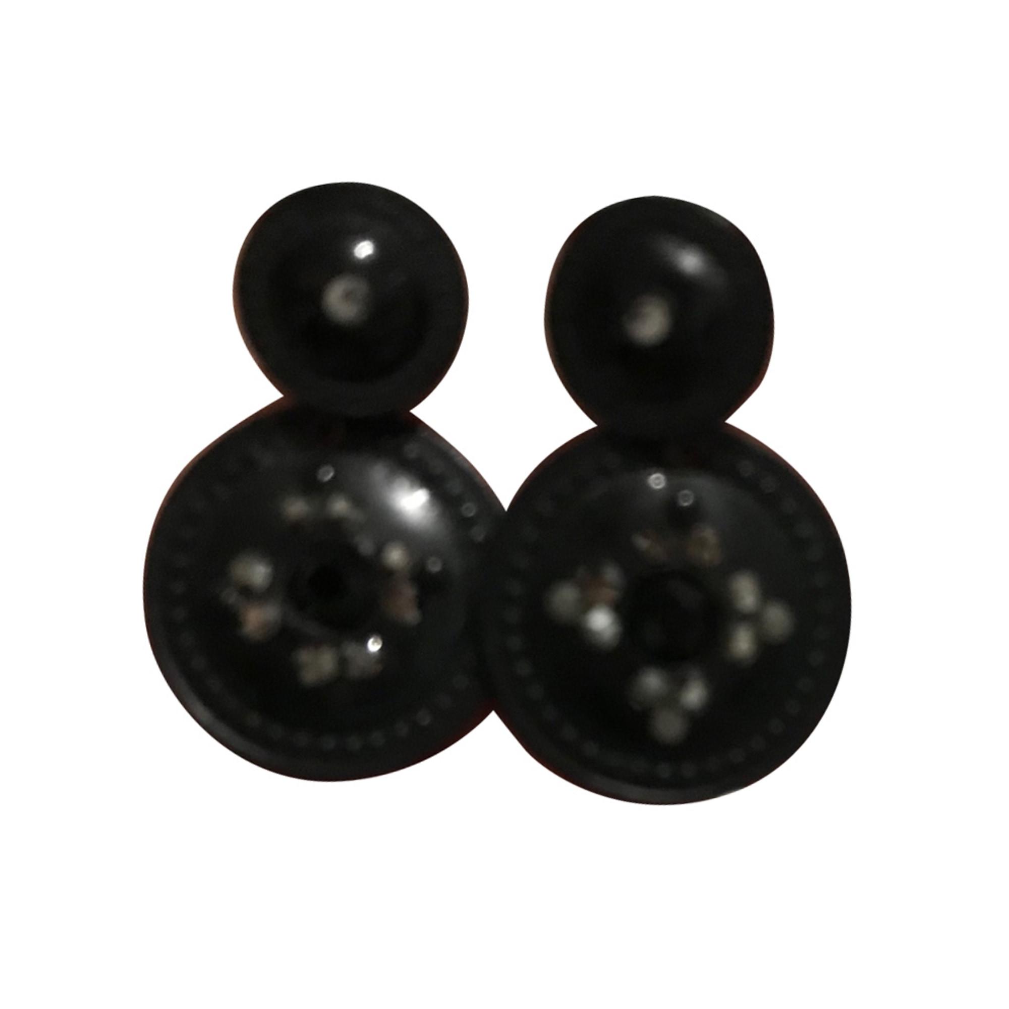 Boucles d'oreille GAS BIJOUX Noir