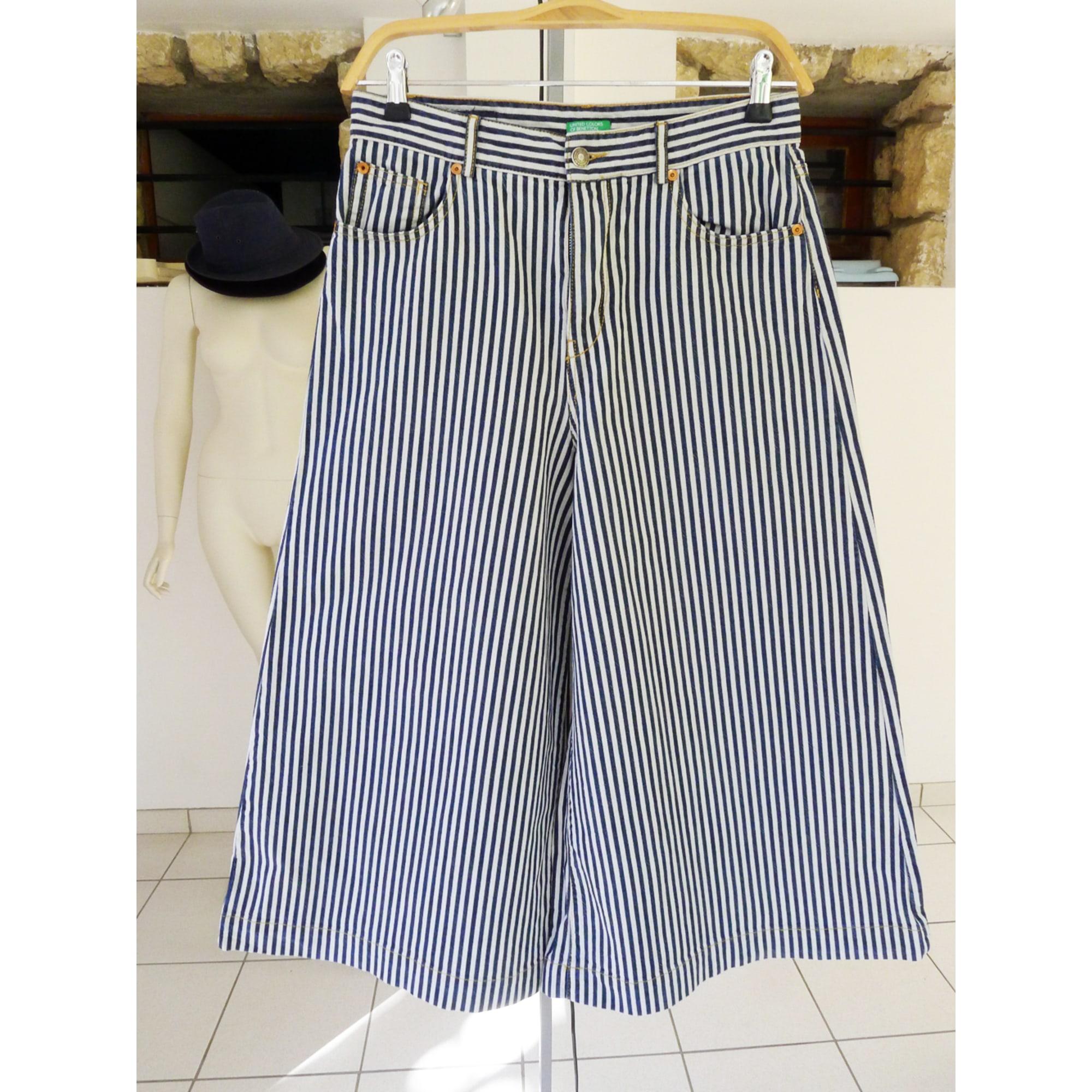 Pantalon large UNITED COLORS OF BENETTON Multicouleur