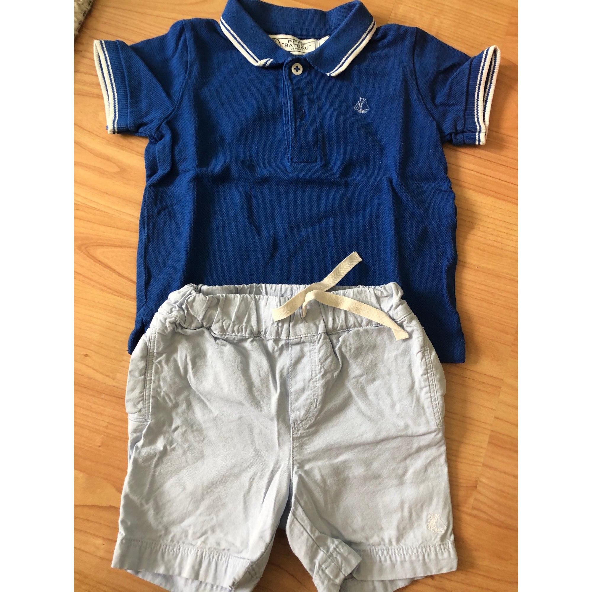 Ensemble & Combinaison pantalon PETIT BATEAU Bleu, bleu marine, bleu turquoise