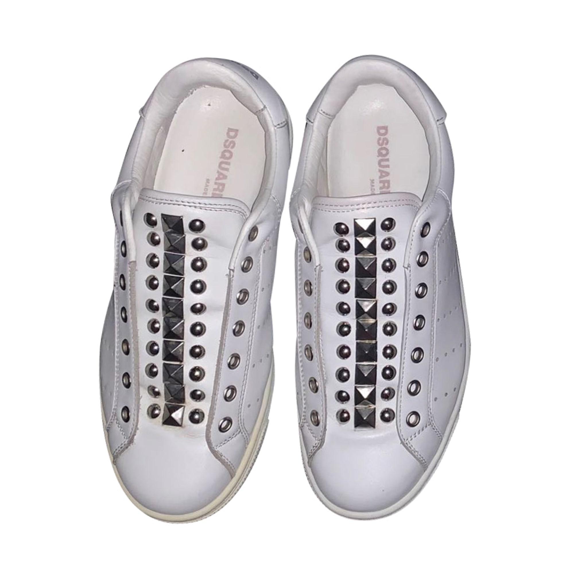 Sneakers DSQUARED2 White, off-white, ecru