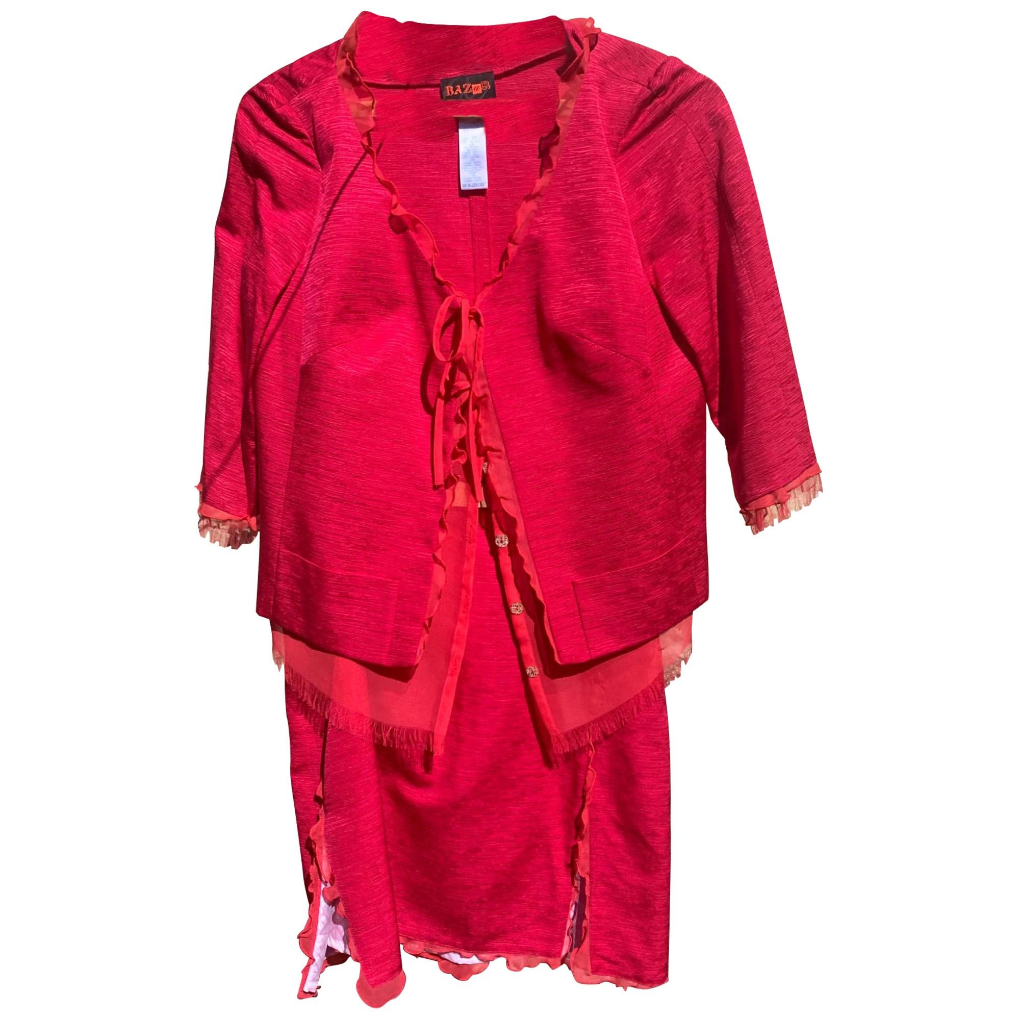 Tailleur jupe CHRISTIAN LACROIX Rose, fuschia, vieux rose