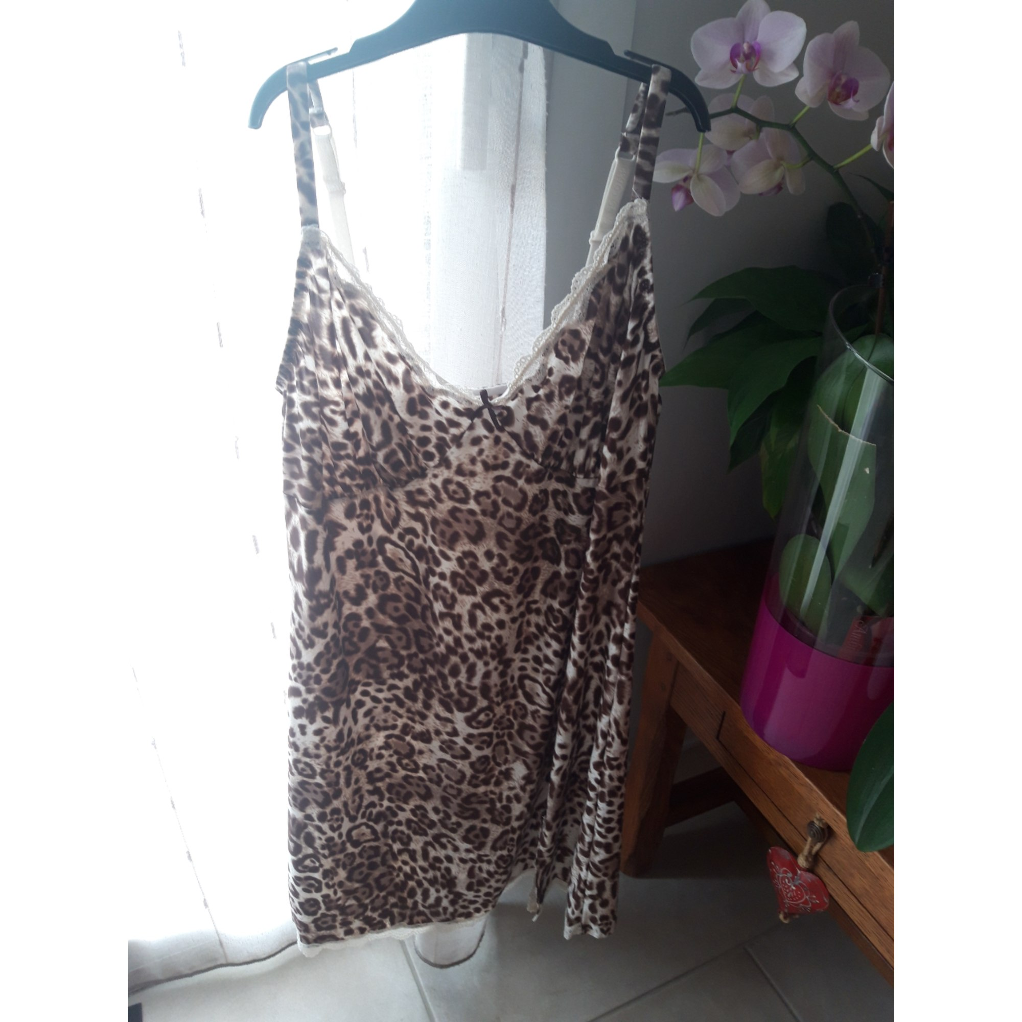 Ensemble, parure lingerie SANS COMPLEXE leopard