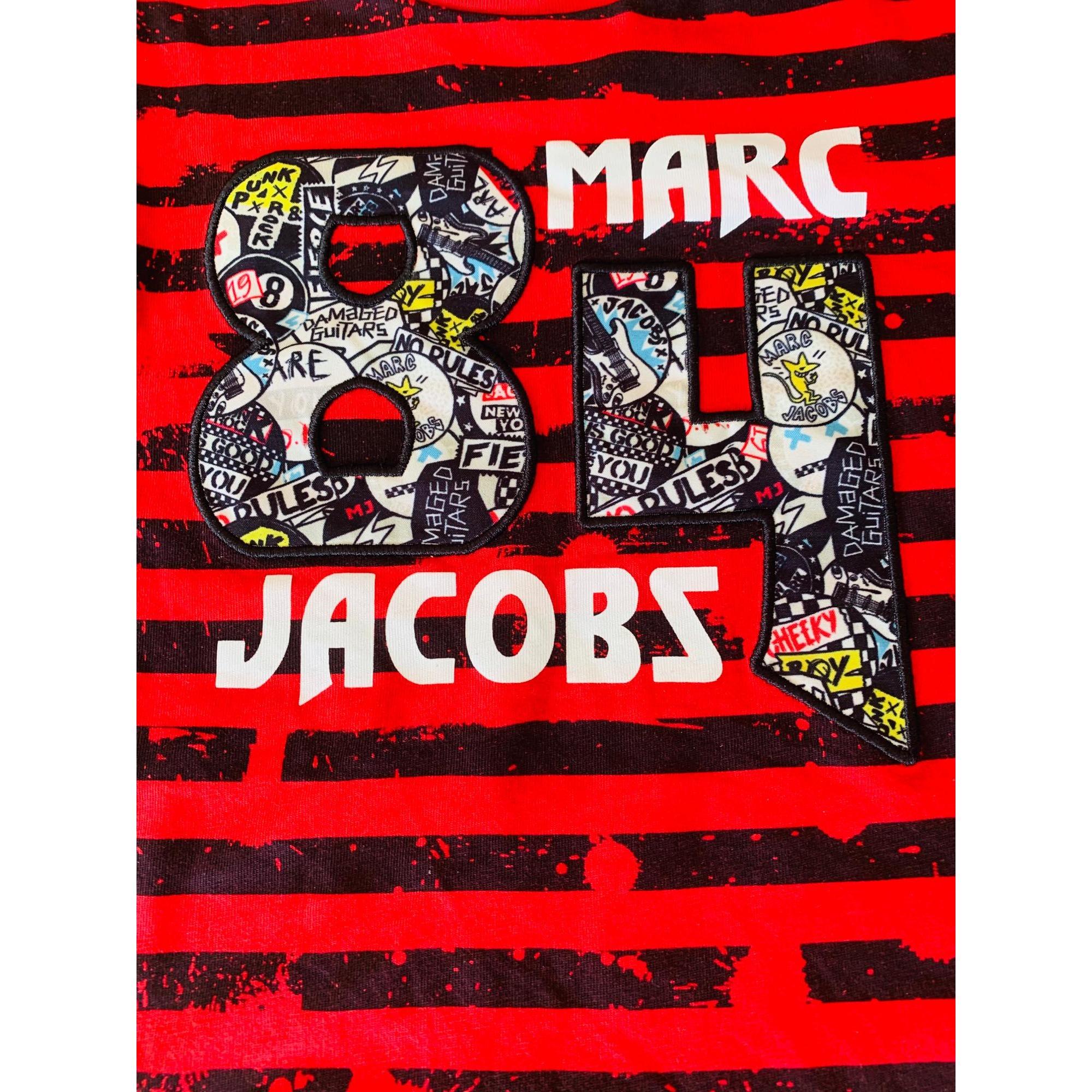 Tee-shirt MARC JACOBS Rouge, bordeaux