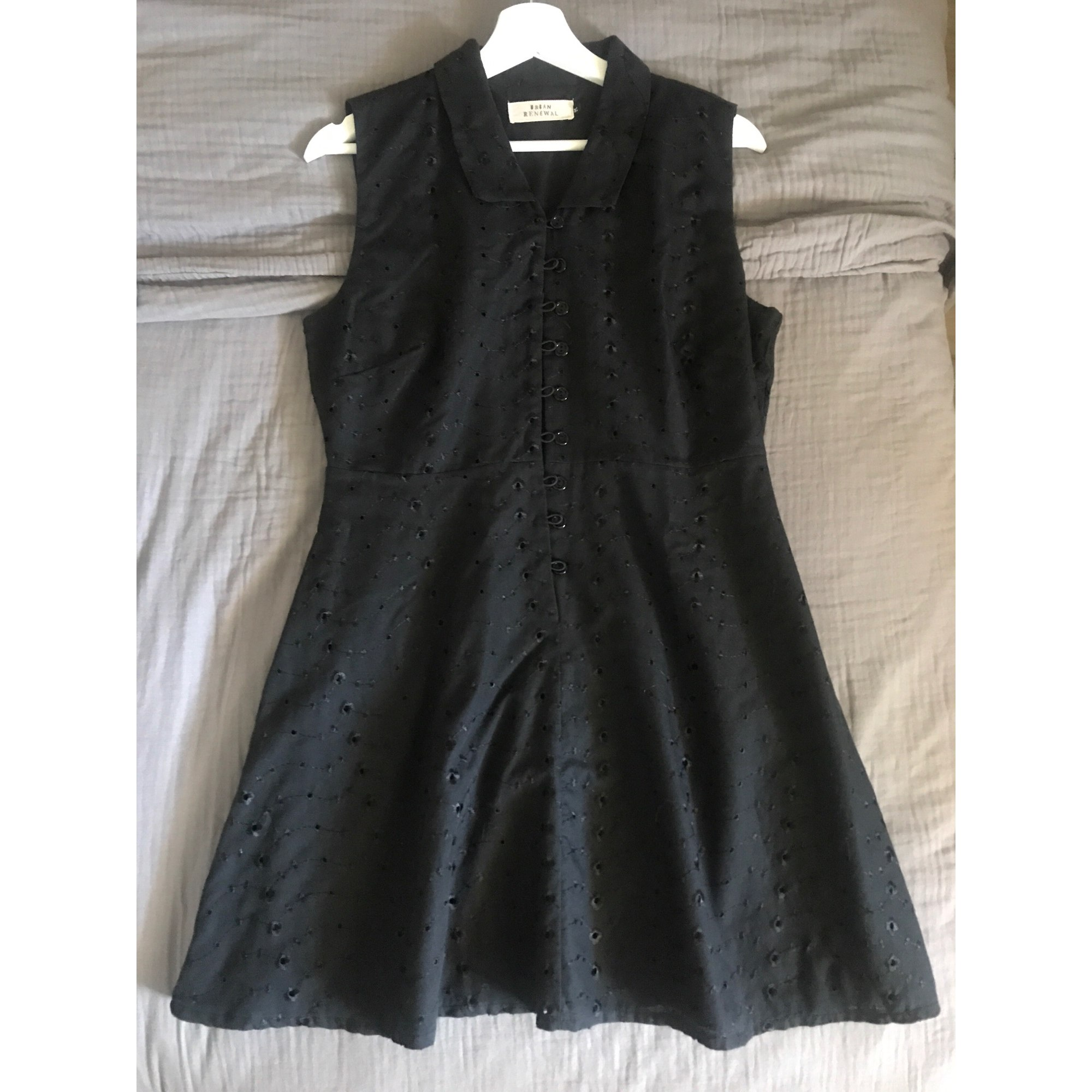 Robe courte URBAN OUTFITTERS Noir