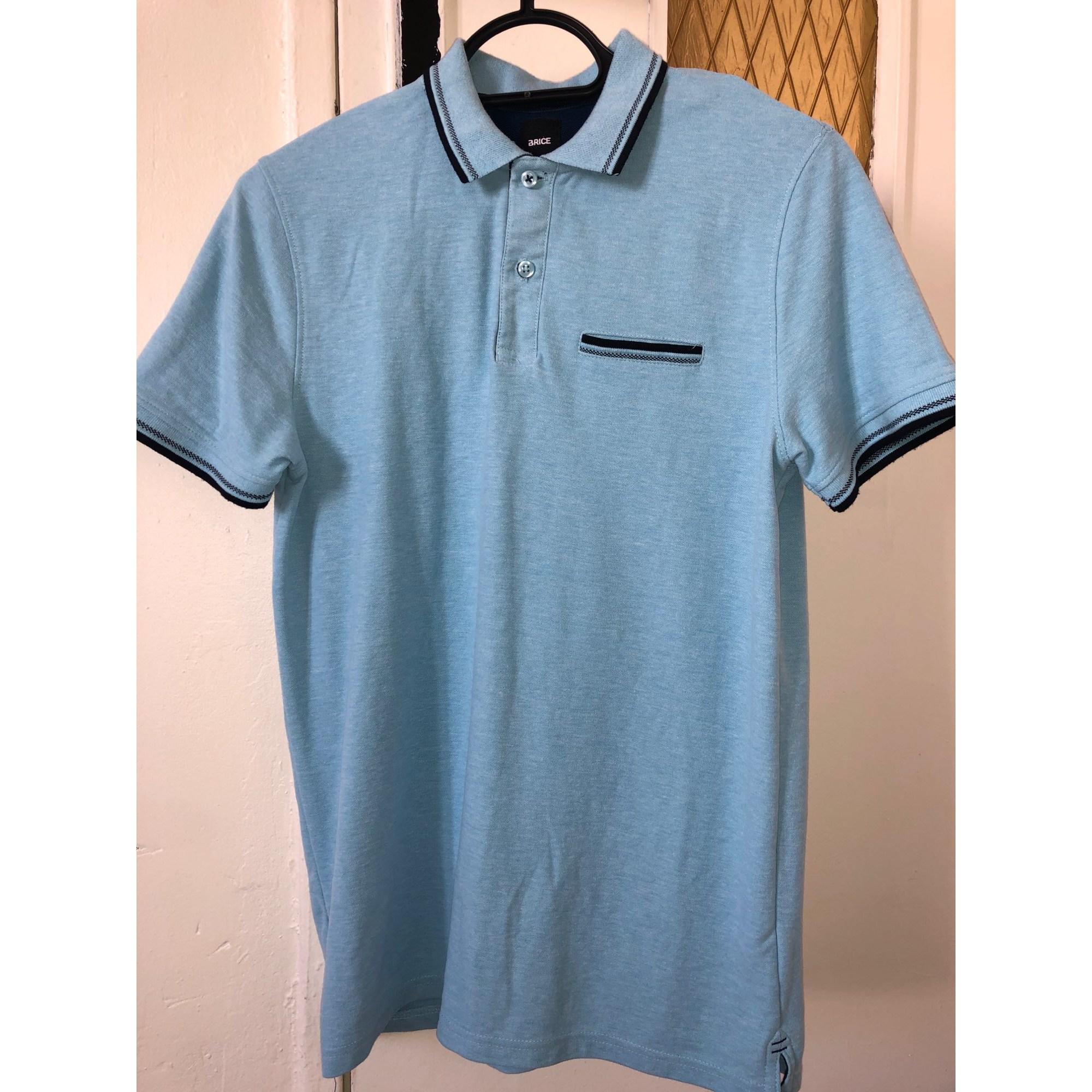 Polo BRICE Bleu, bleu marine, bleu turquoise