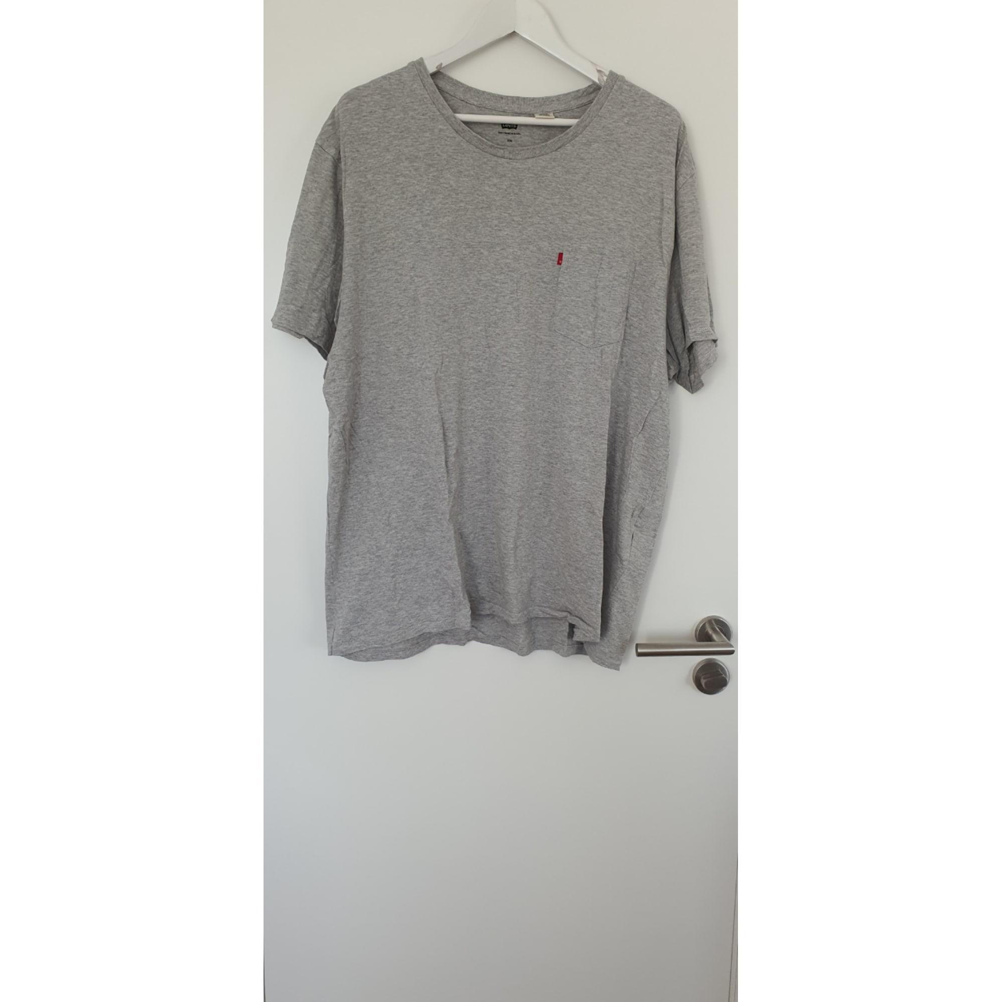 Tee-shirt LEVI'S Gris, anthracite