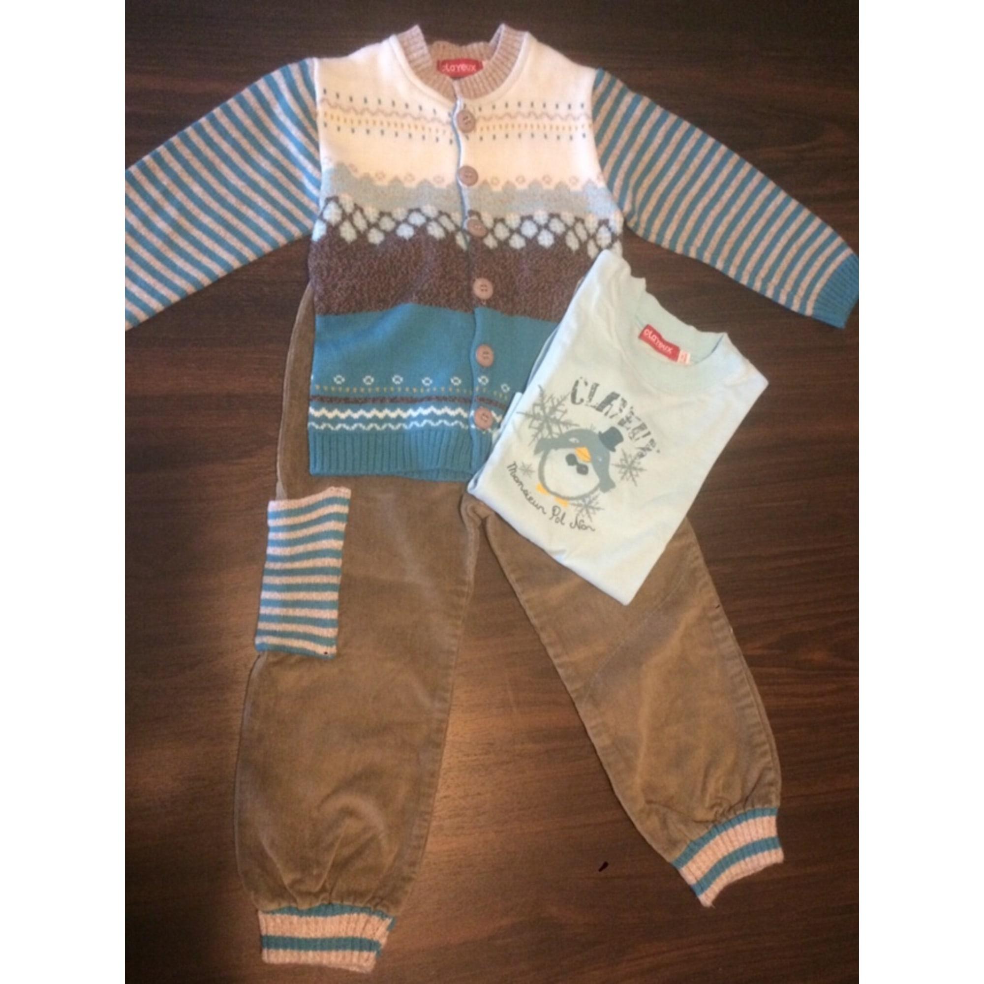 Ensemble & Combinaison pantalon CLAYEUX Bleu, bleu marine, bleu turquoise