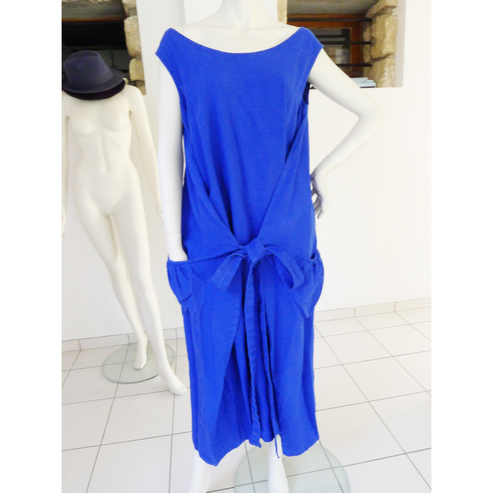 Robe longue ATELIER GALIA Bleu, bleu marine, bleu turquoise