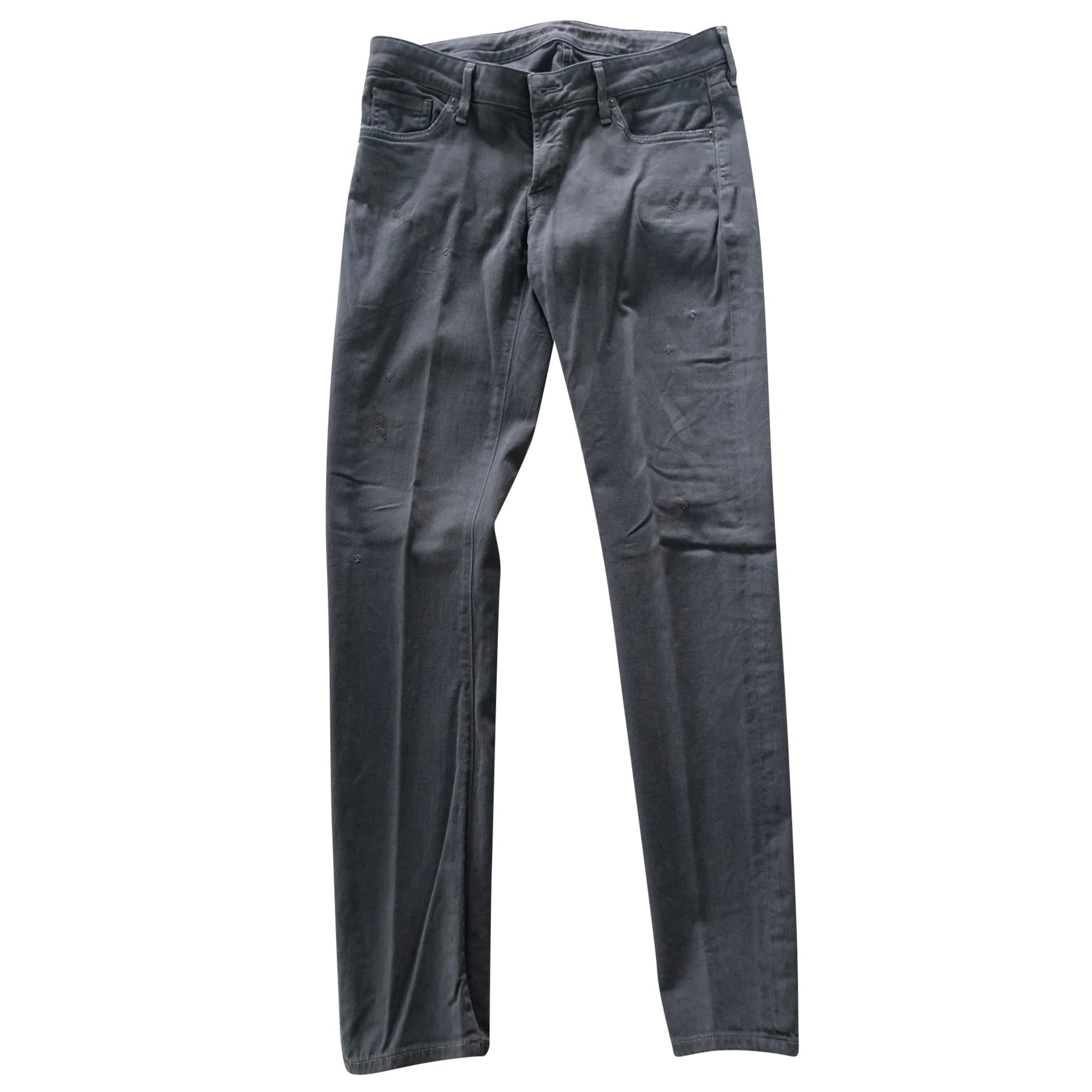 Jeans droit CITIZENS OF HUMANITY Gris, anthracite
