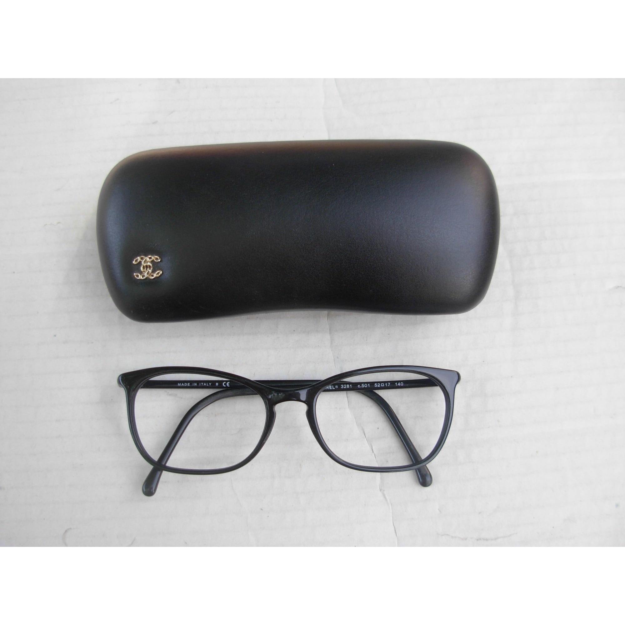 Monture de lunettes CHANEL Noir