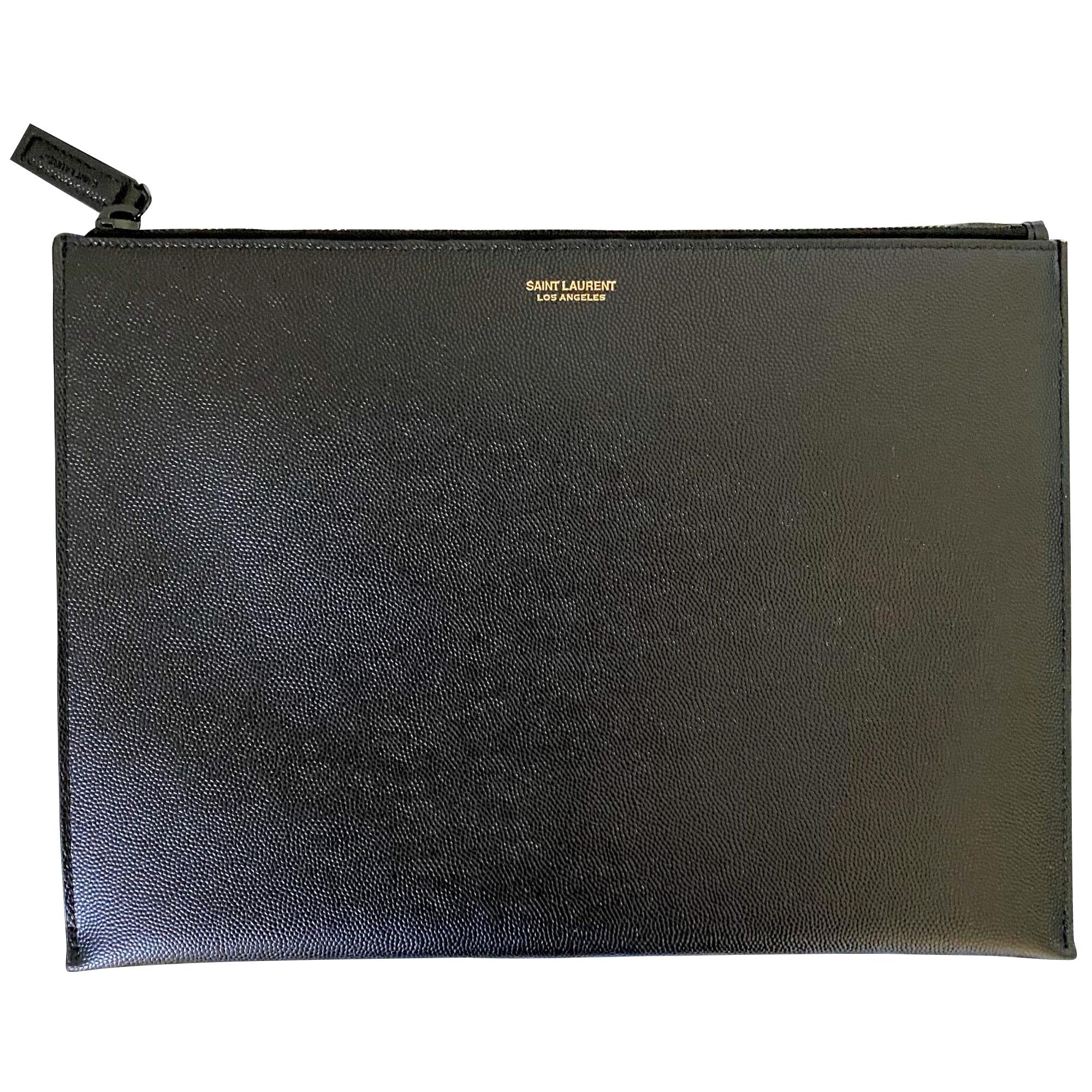 Porte document, serviette SAINT LAURENT Noir