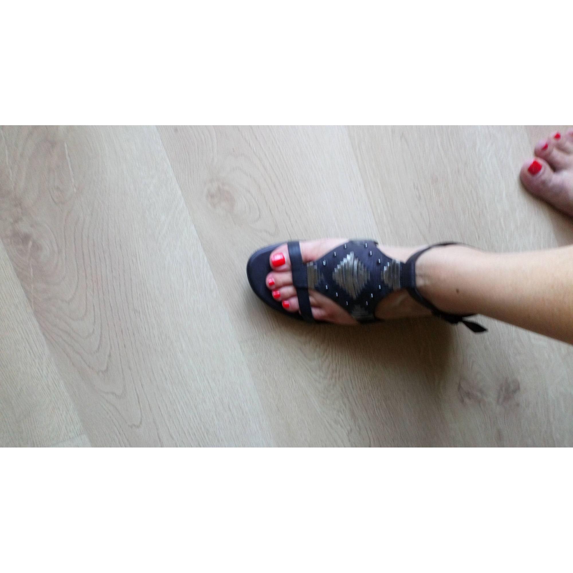Sandales compensées JB MARTIN Kaki