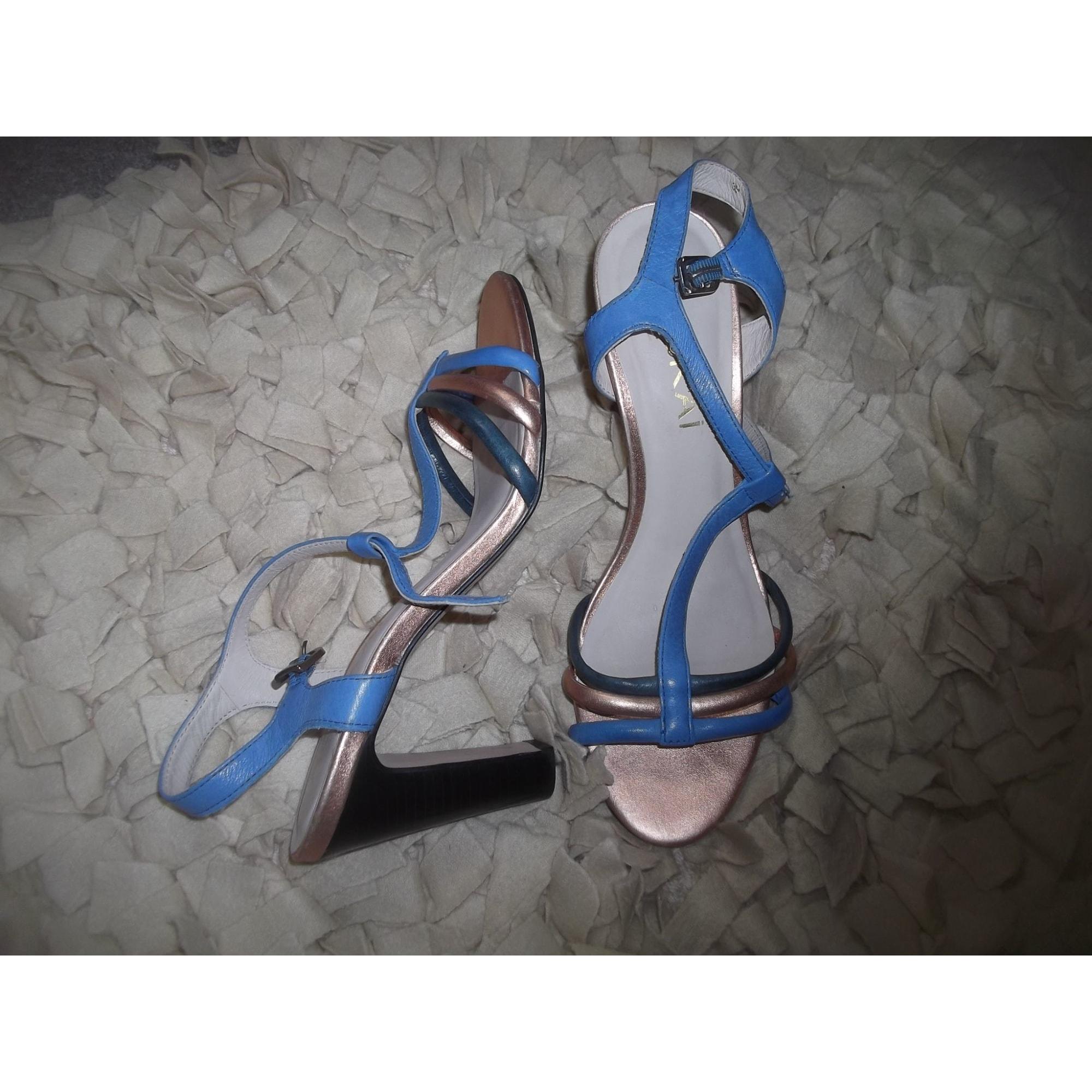 Sandales à talons KOOKAI bleu - gold rose