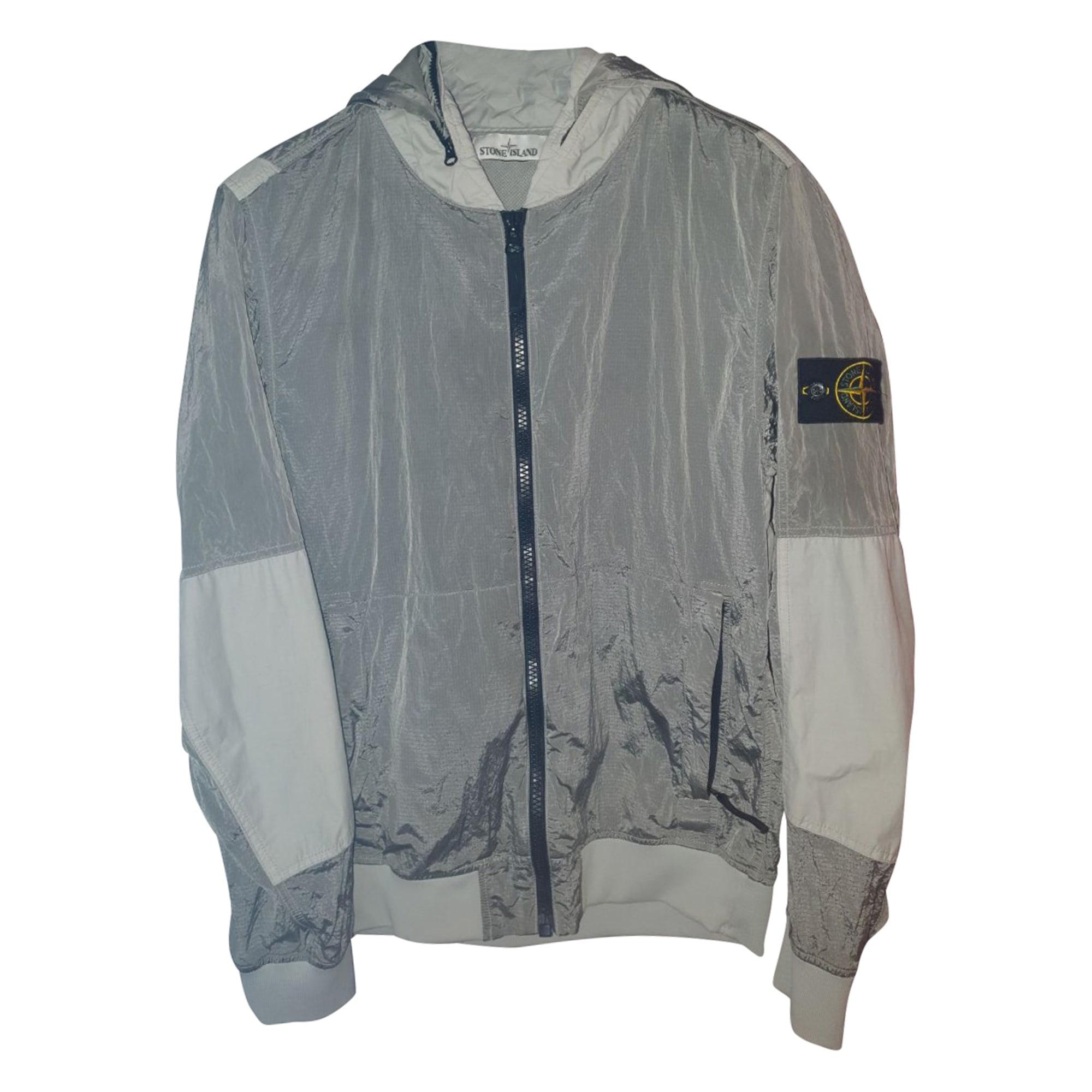 Jacket STONE ISLAND Silver