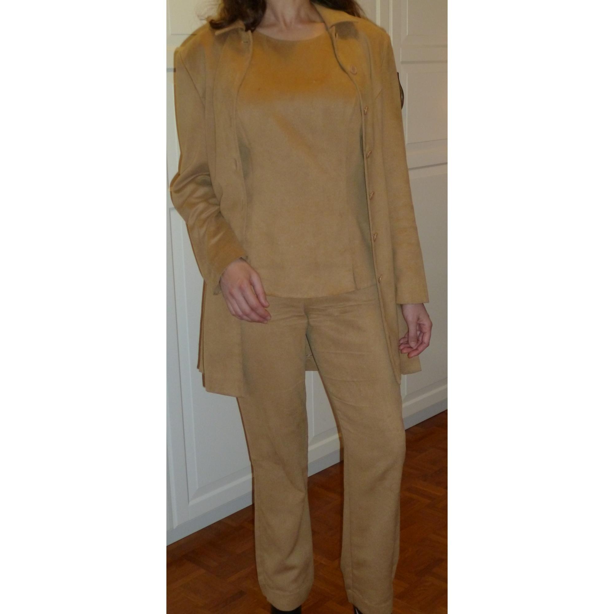 Tailleur pantalon MARQUE INCONNUE Doré, bronze, cuivre