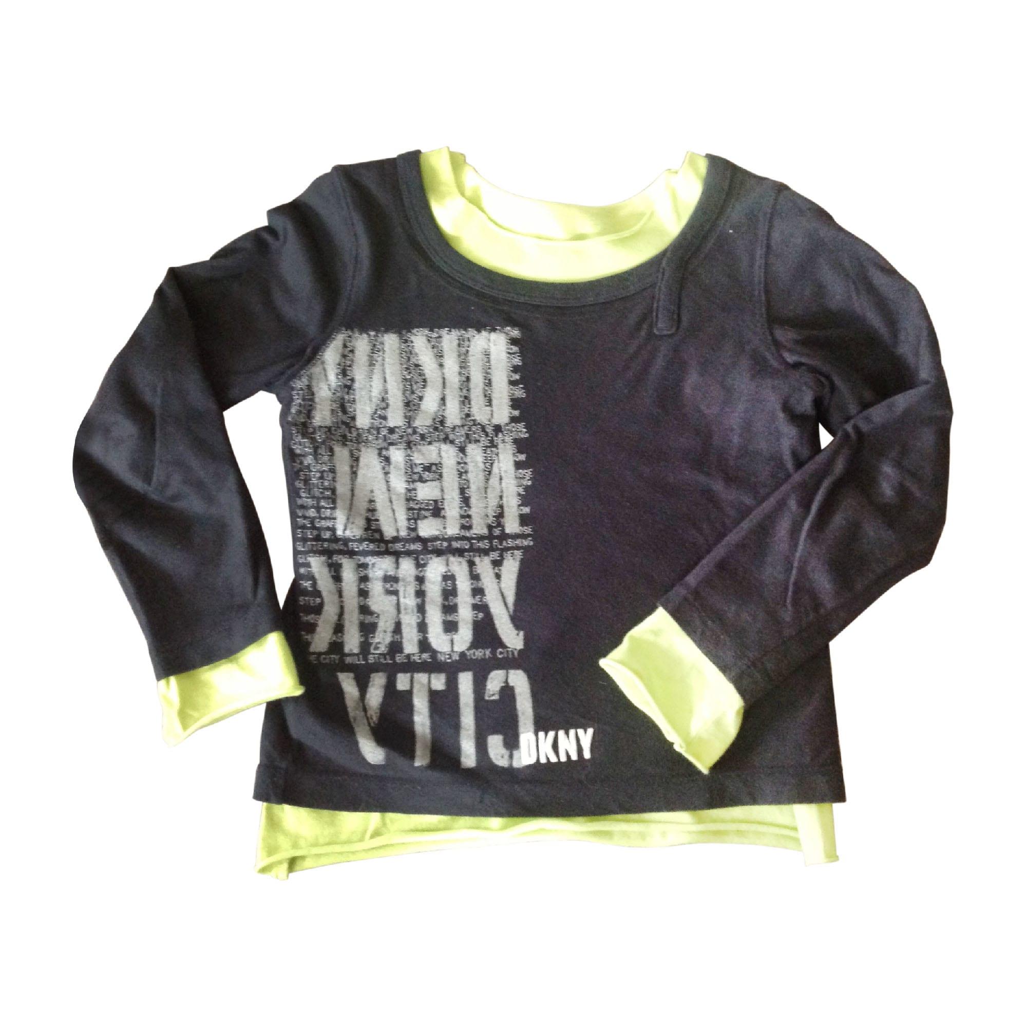 Top, Tee-shirt DKNY Noir