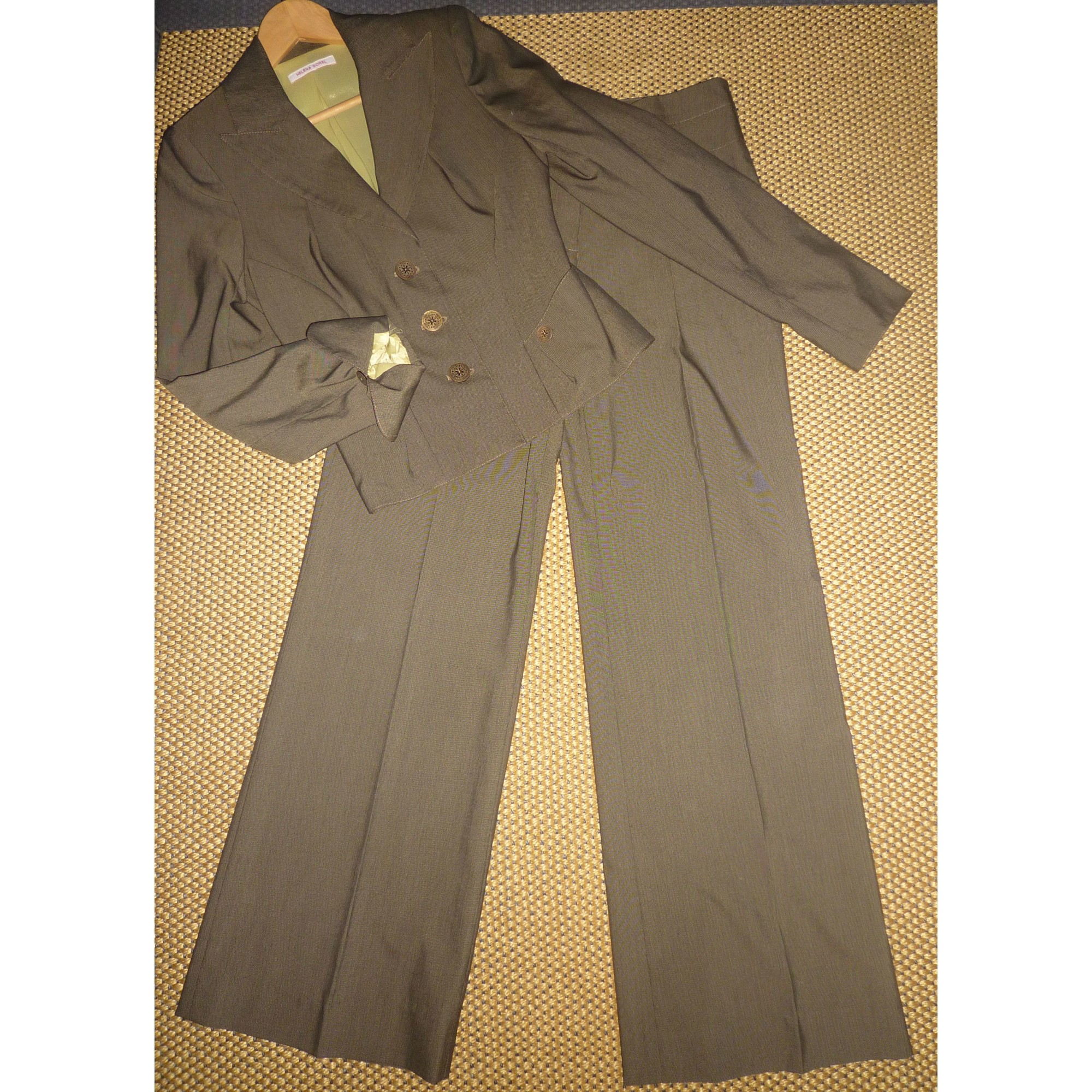 Tailleur pantalon HELENA SOREL Kaki
