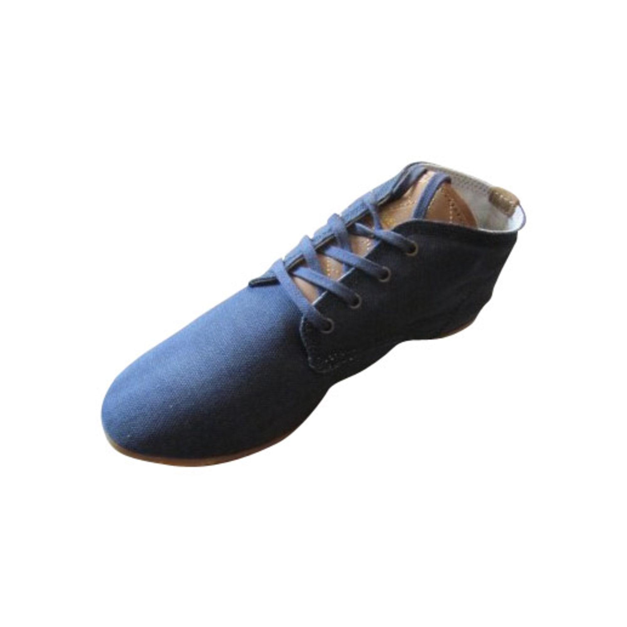 Chaussures à lacets  ELEVEN PARIS Bleu, bleu marine, bleu turquoise