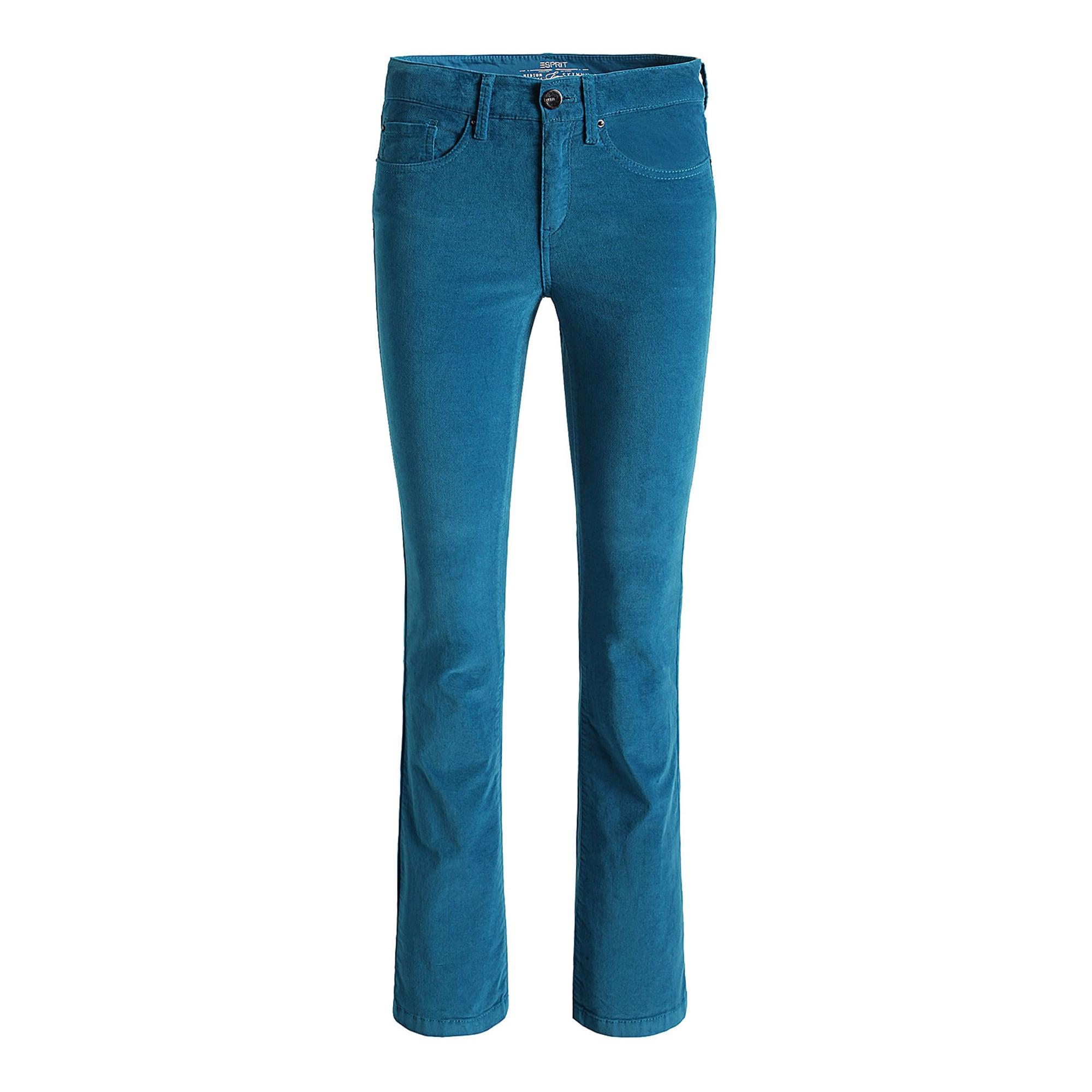Pantalon évasé ESPRIT Bleu, bleu marine, bleu turquoise