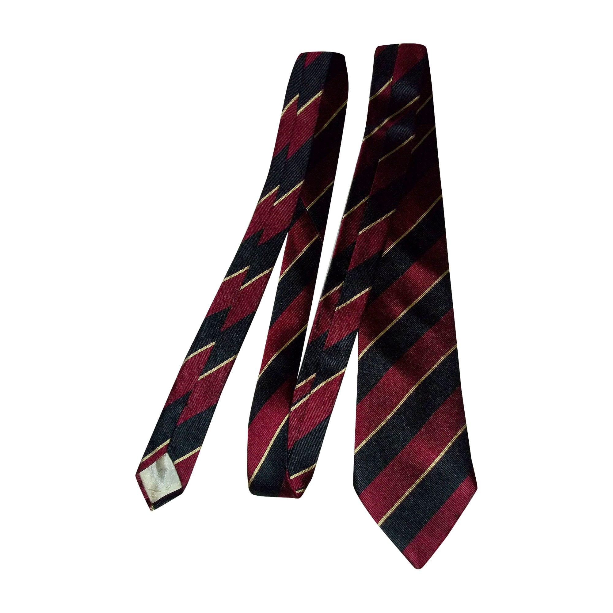 Cravate CARVEN Rouge, bordeaux