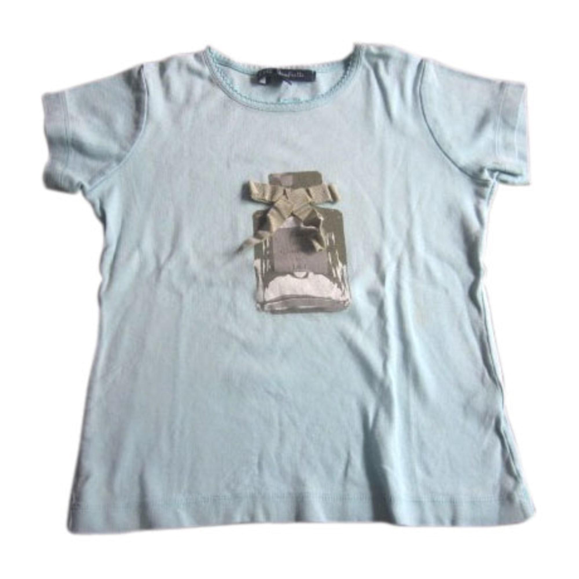 Top, Tee-shirt LILI GAUFRETTE Bleu, bleu marine, bleu turquoise