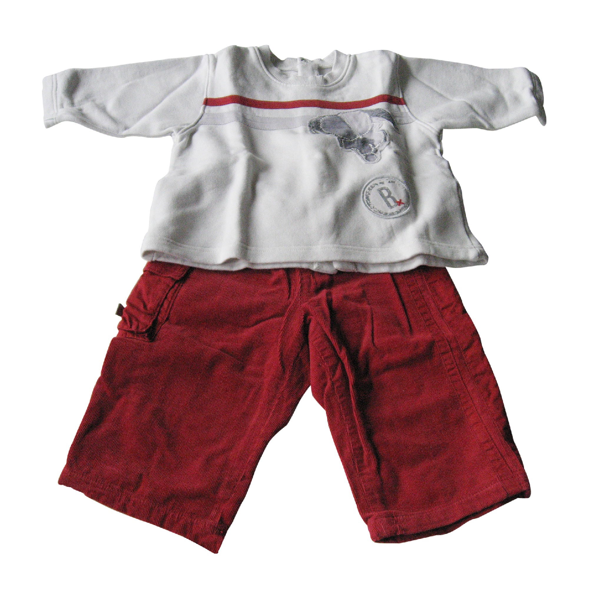 Ensemble & Combinaison pantalon JEAN BOURGET Rouge, bordeaux