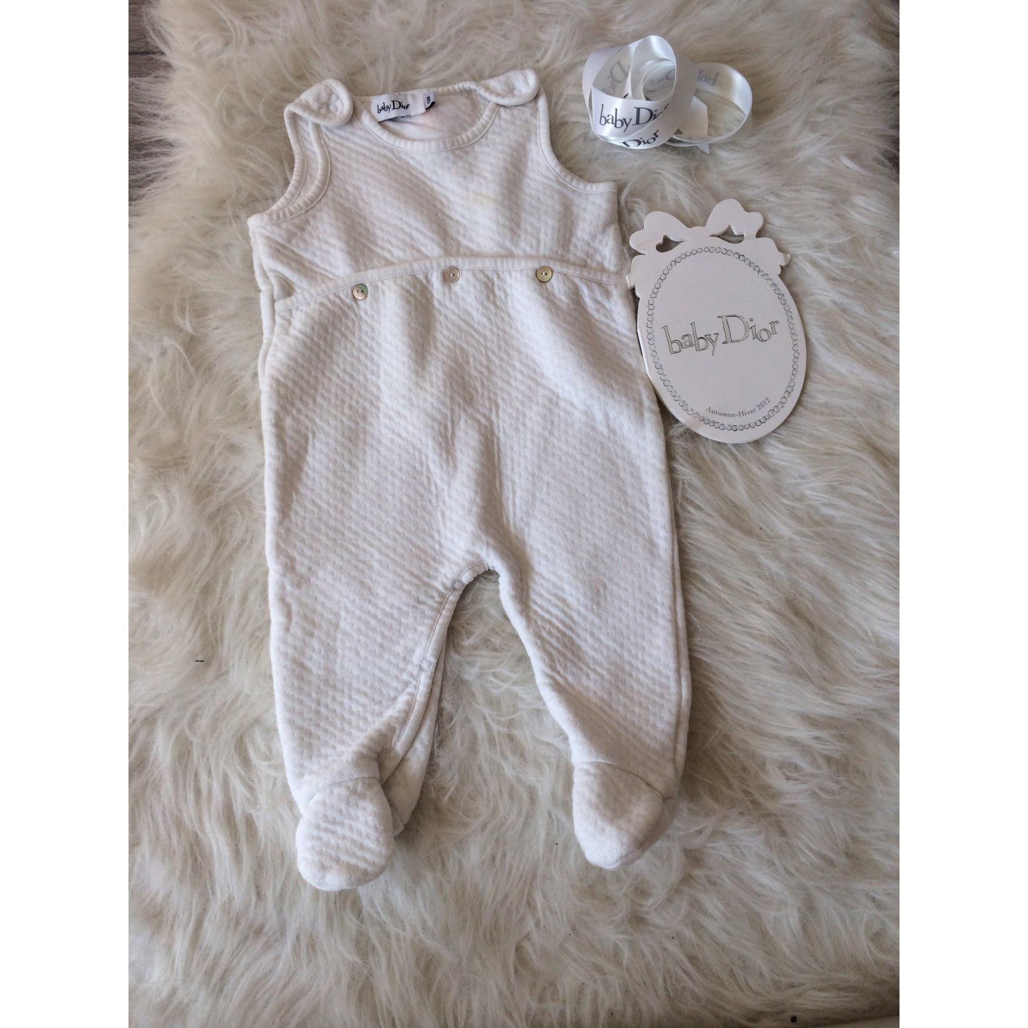 Ensemble & Combinaison pantalon BABY DIOR Blanc, blanc cassé, écru