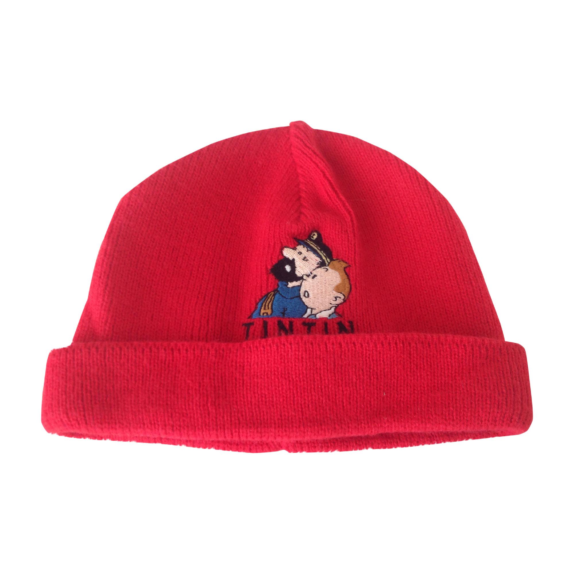 Bonnet FLORIANE Rouge, bordeaux