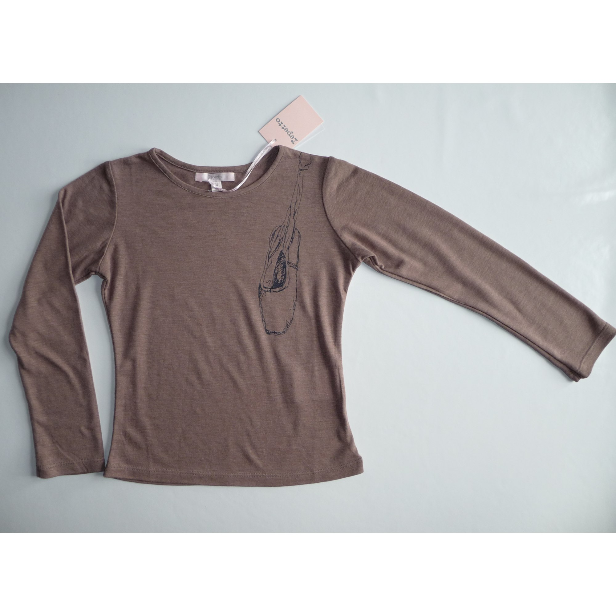 Top, Tee-shirt REPETTO Marron